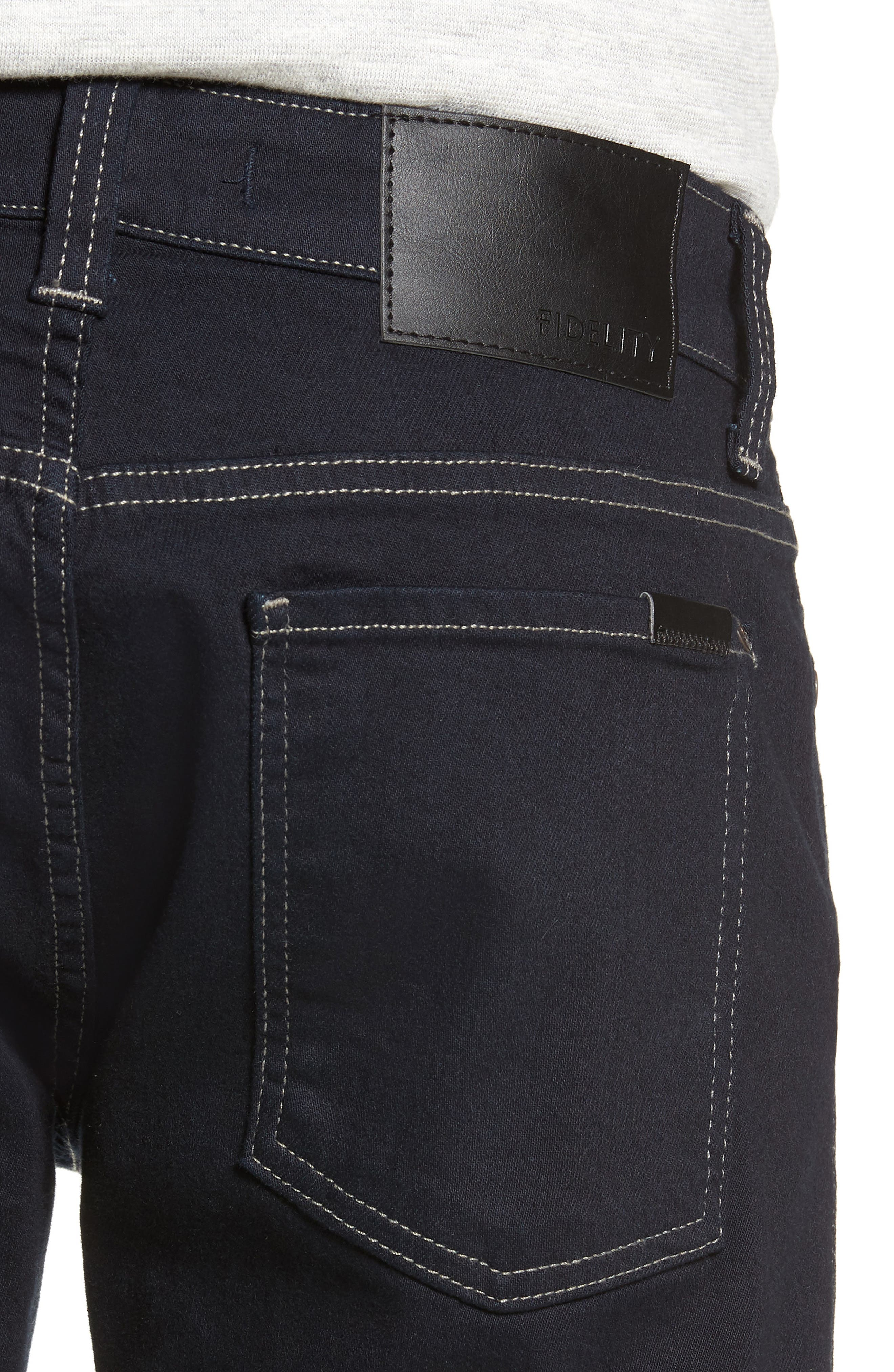 Torino Slim Fit Jeans,                             Alternate thumbnail 4, color,                             AKIRA BLUE