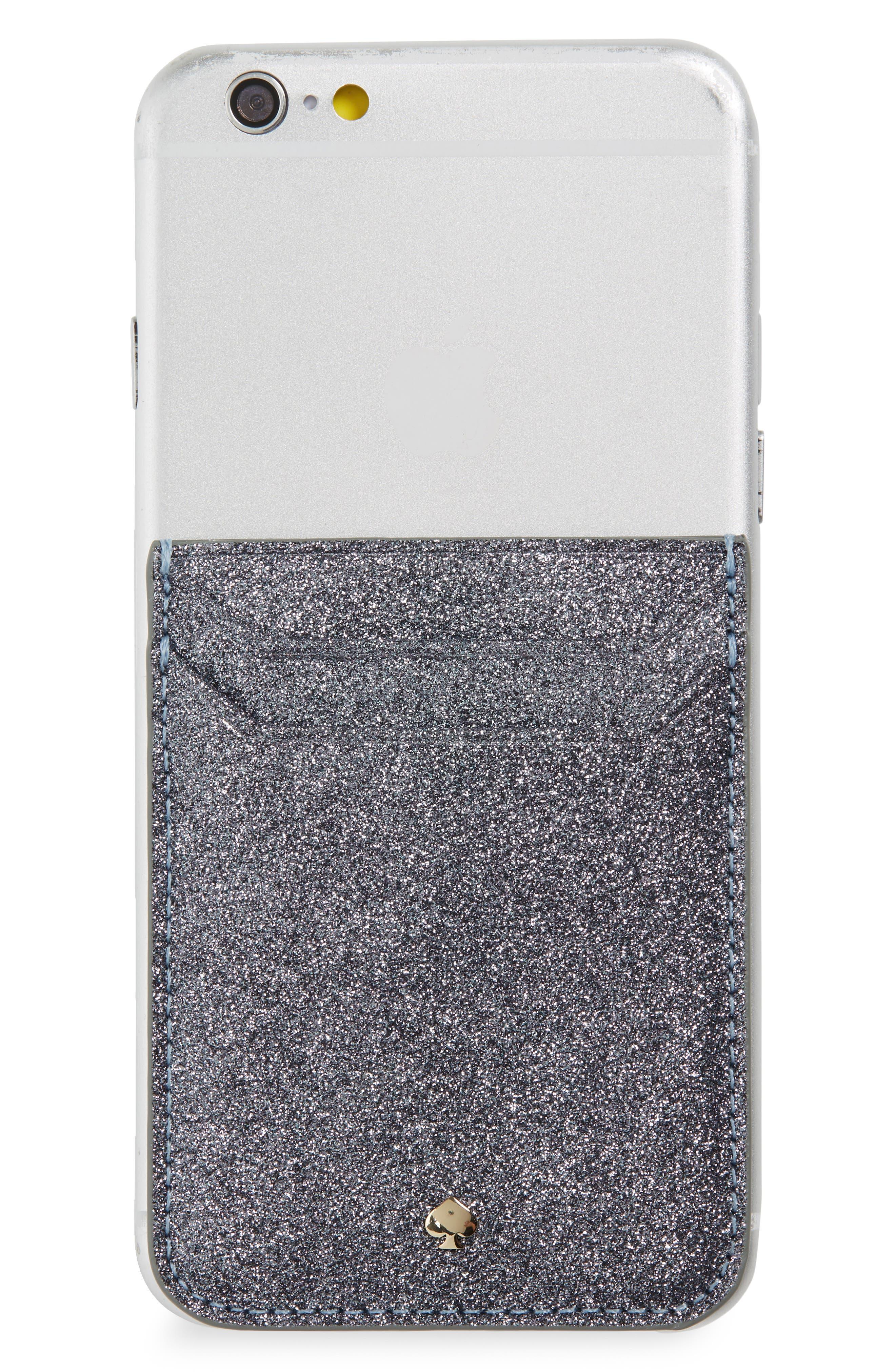 glitter triple sticker pocket,                         Main,                         color, 020