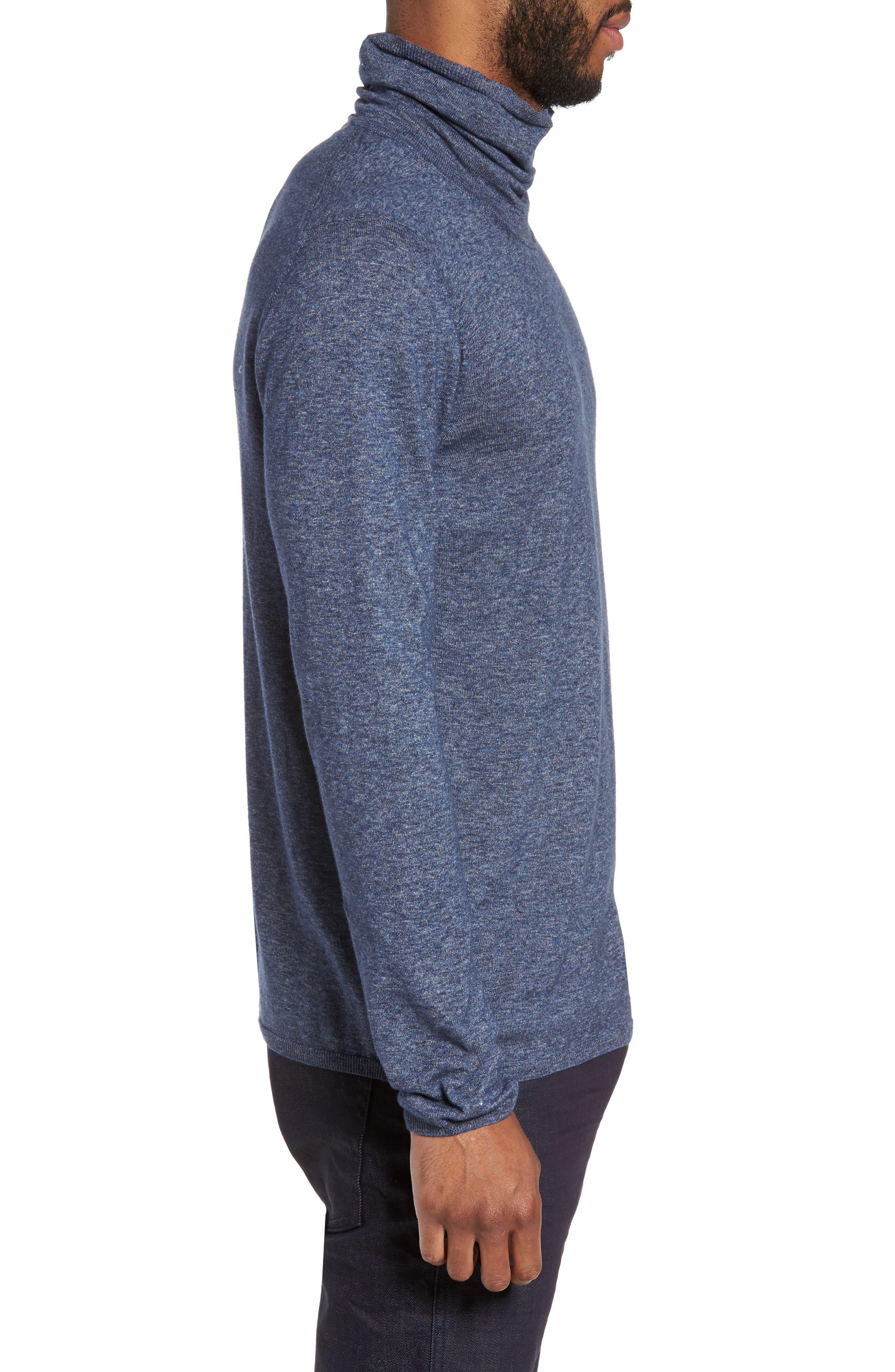 Hess Wool Turtleneck Sweater,                             Alternate thumbnail 6, color,