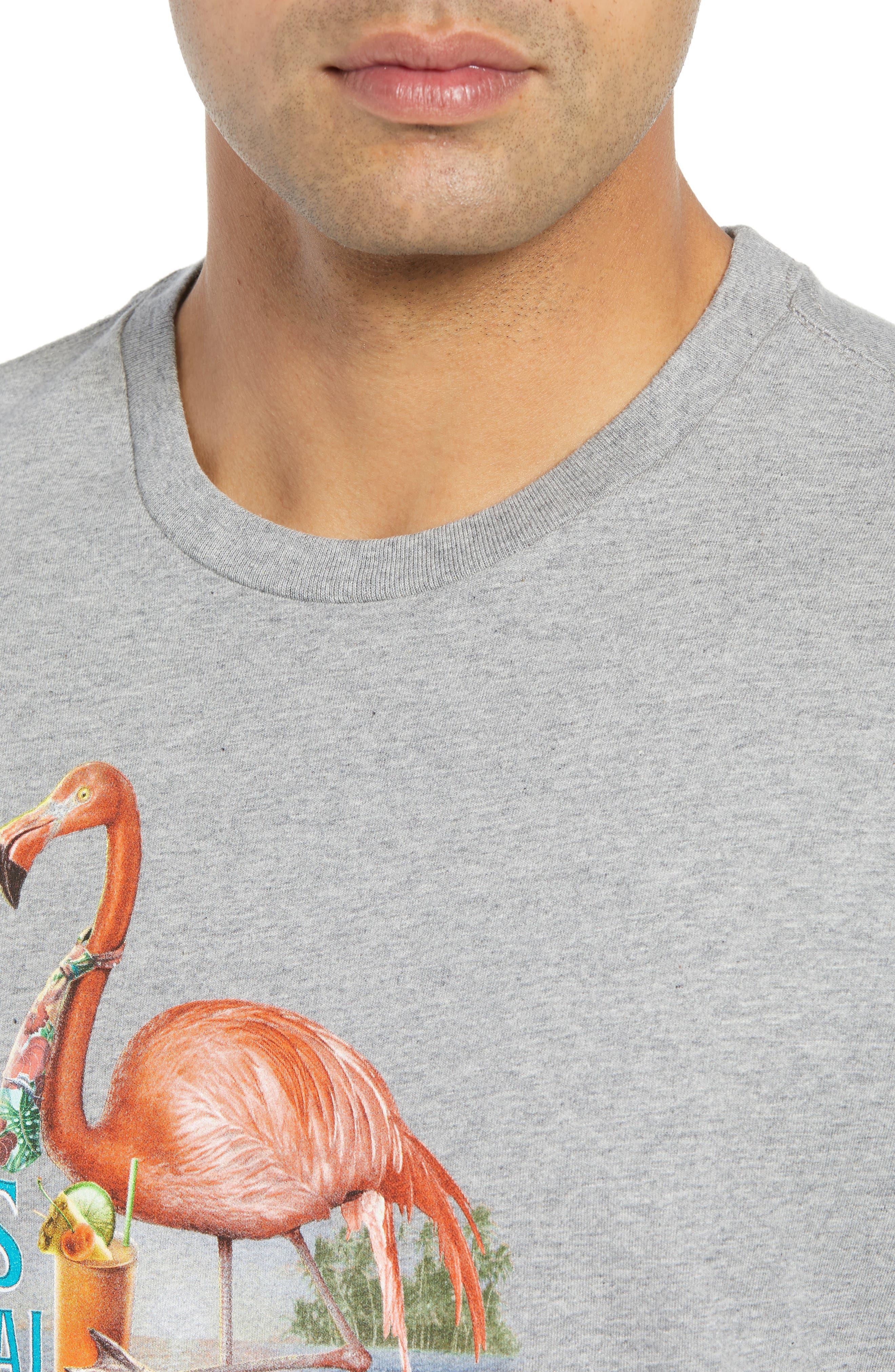 Is Mai Tai on Straight? T-Shirt,                             Alternate thumbnail 4, color,                             GREY HEATHER