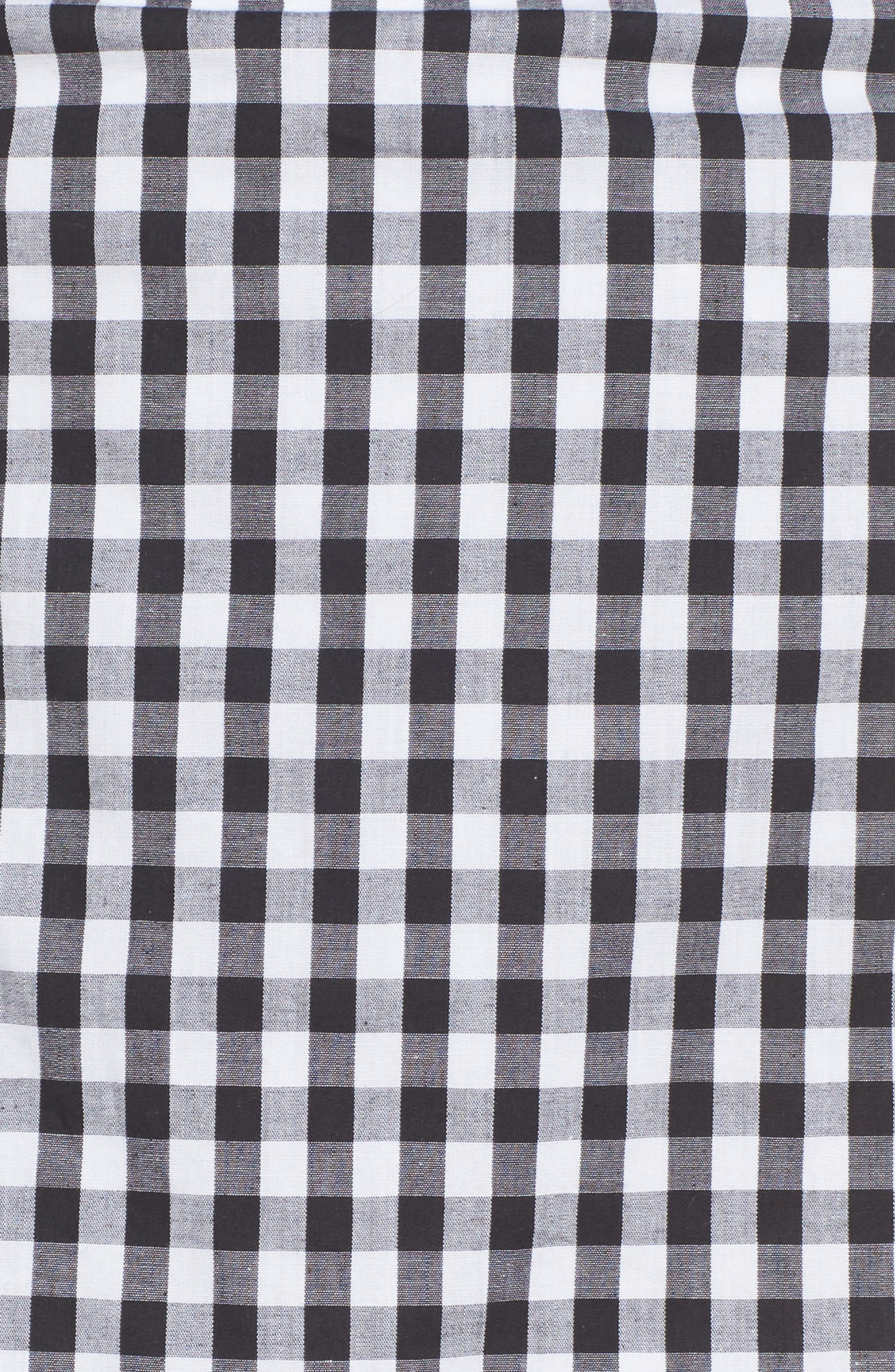 Cinci Wrap Skirt,                             Alternate thumbnail 5, color,                             001