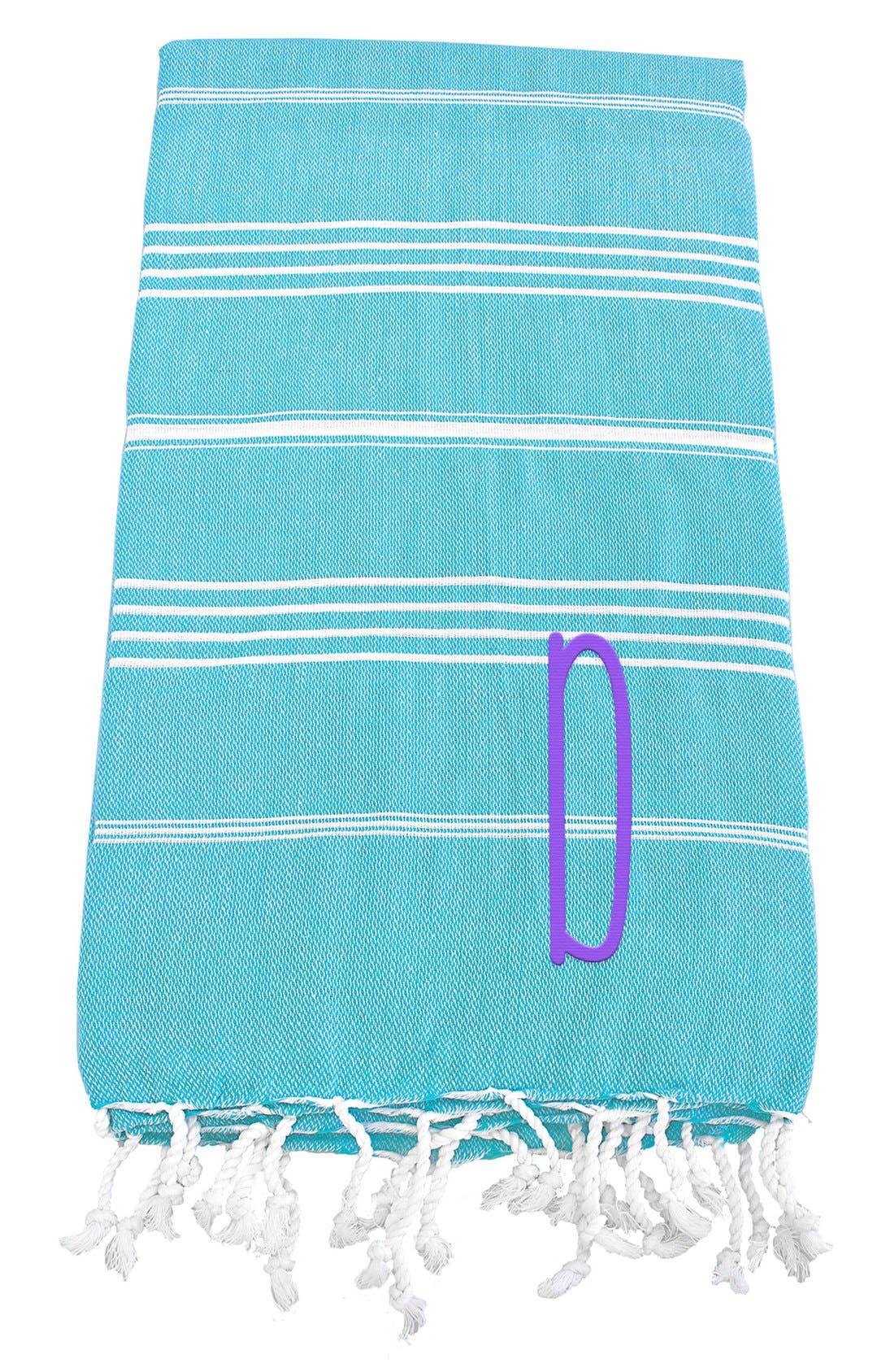 Monogram Turkish Cotton Towel,                             Main thumbnail 87, color,