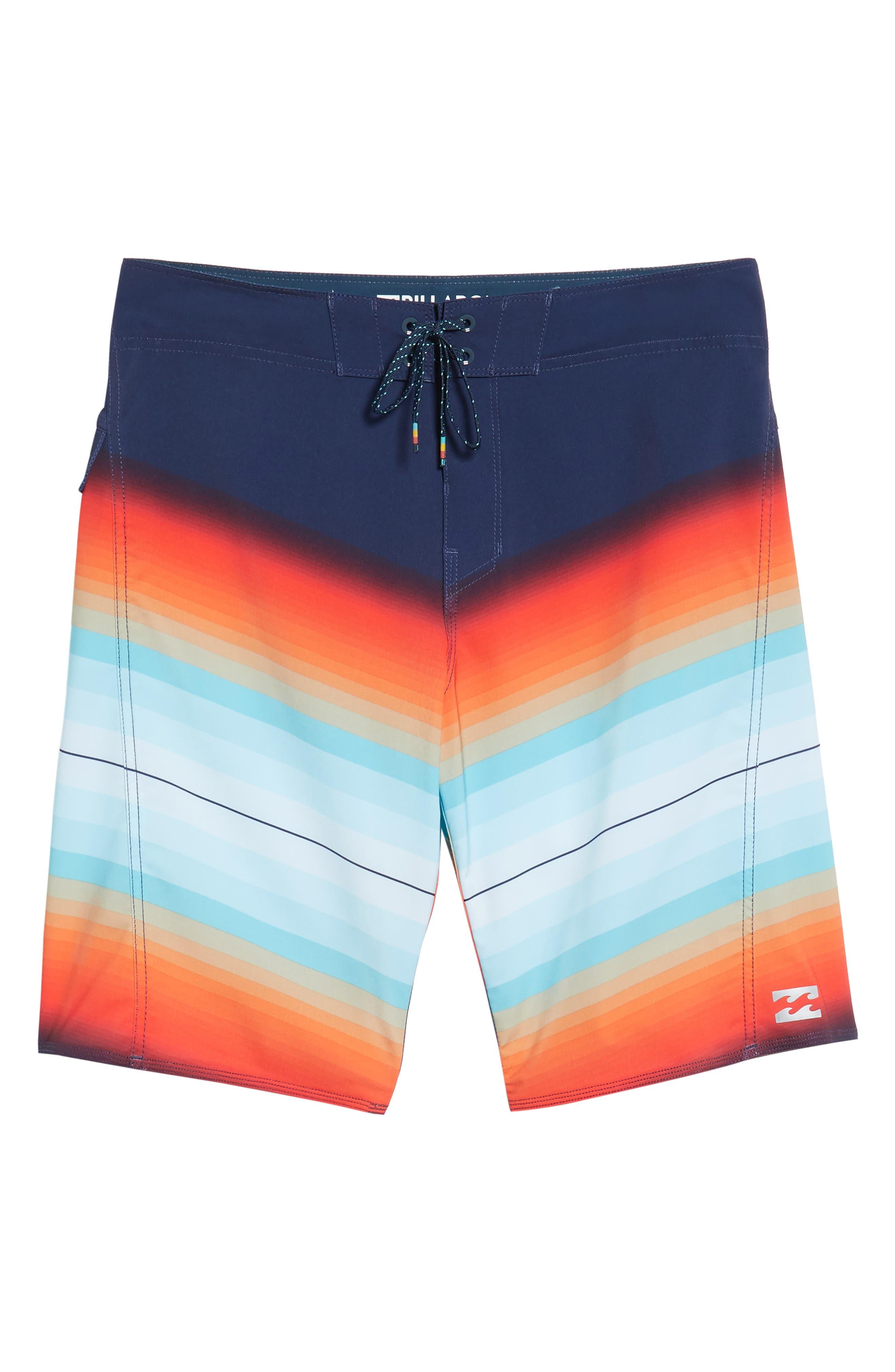 Fluid X Board Shorts,                             Alternate thumbnail 18, color,
