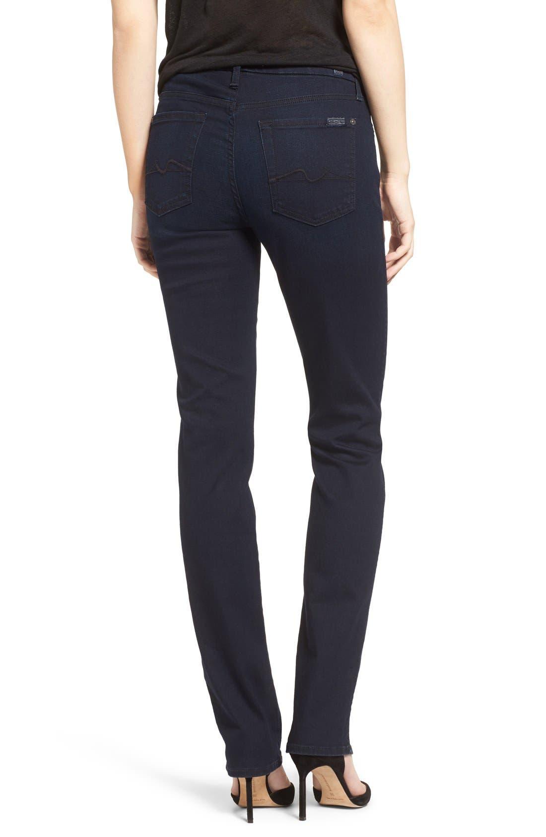 'b(air) - Kimmie' Straight Leg Jeans,                             Alternate thumbnail 2, color,
