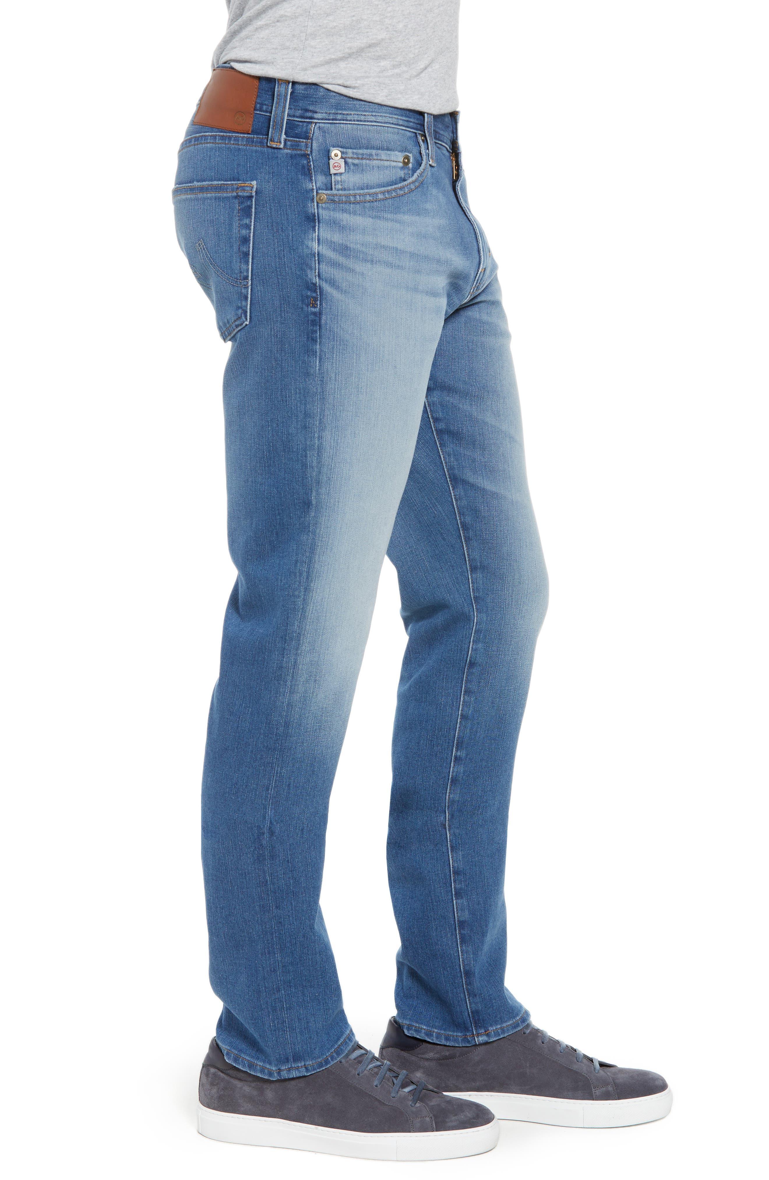 Everett Slim Straight Leg Jeans,                             Alternate thumbnail 3, color,                             487
