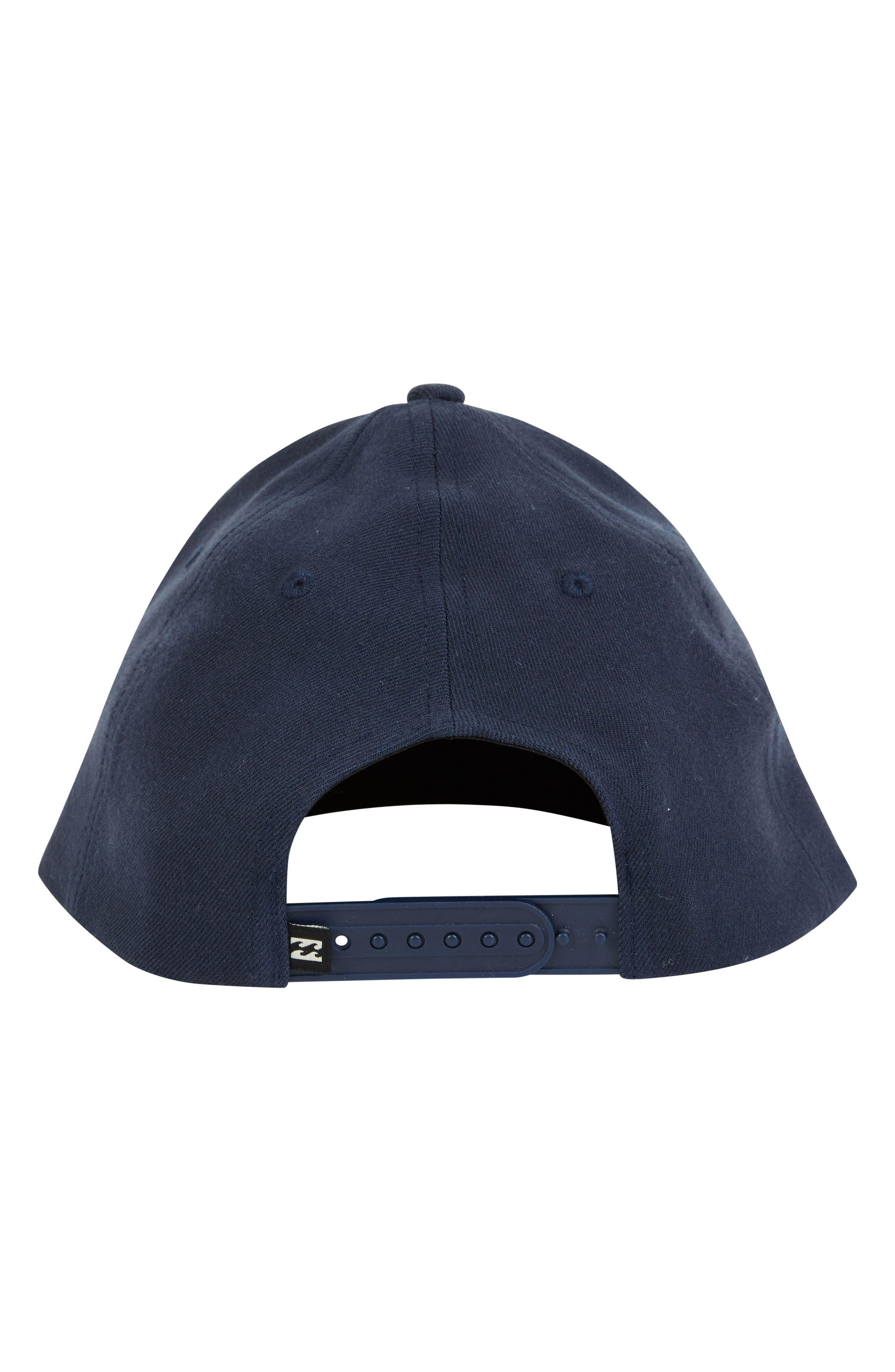Oxford Snapback Baseball Cap,                             Alternate thumbnail 3, color,                             NAVY