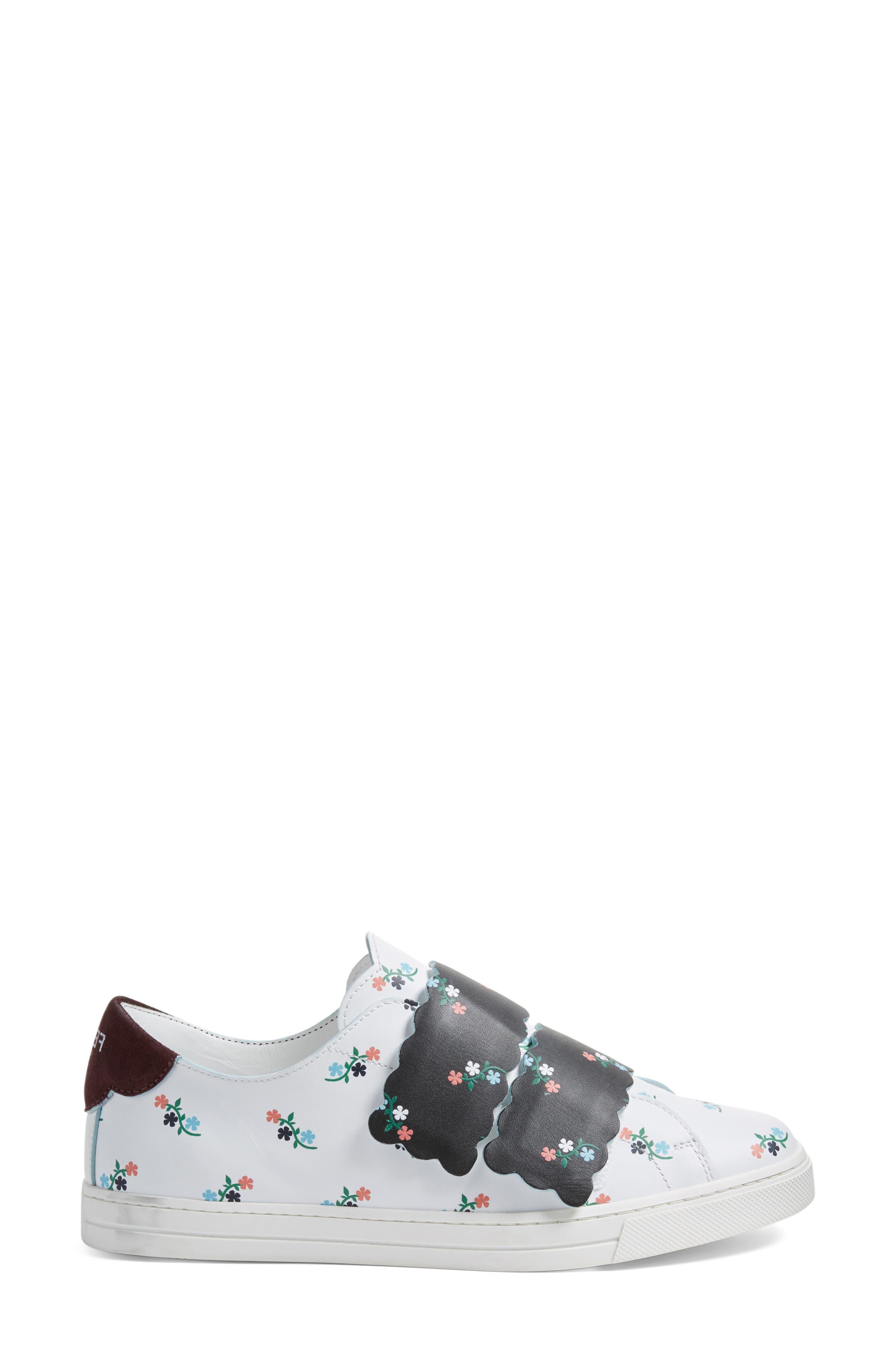 Scallop Sneaker,                             Alternate thumbnail 3, color,                             104