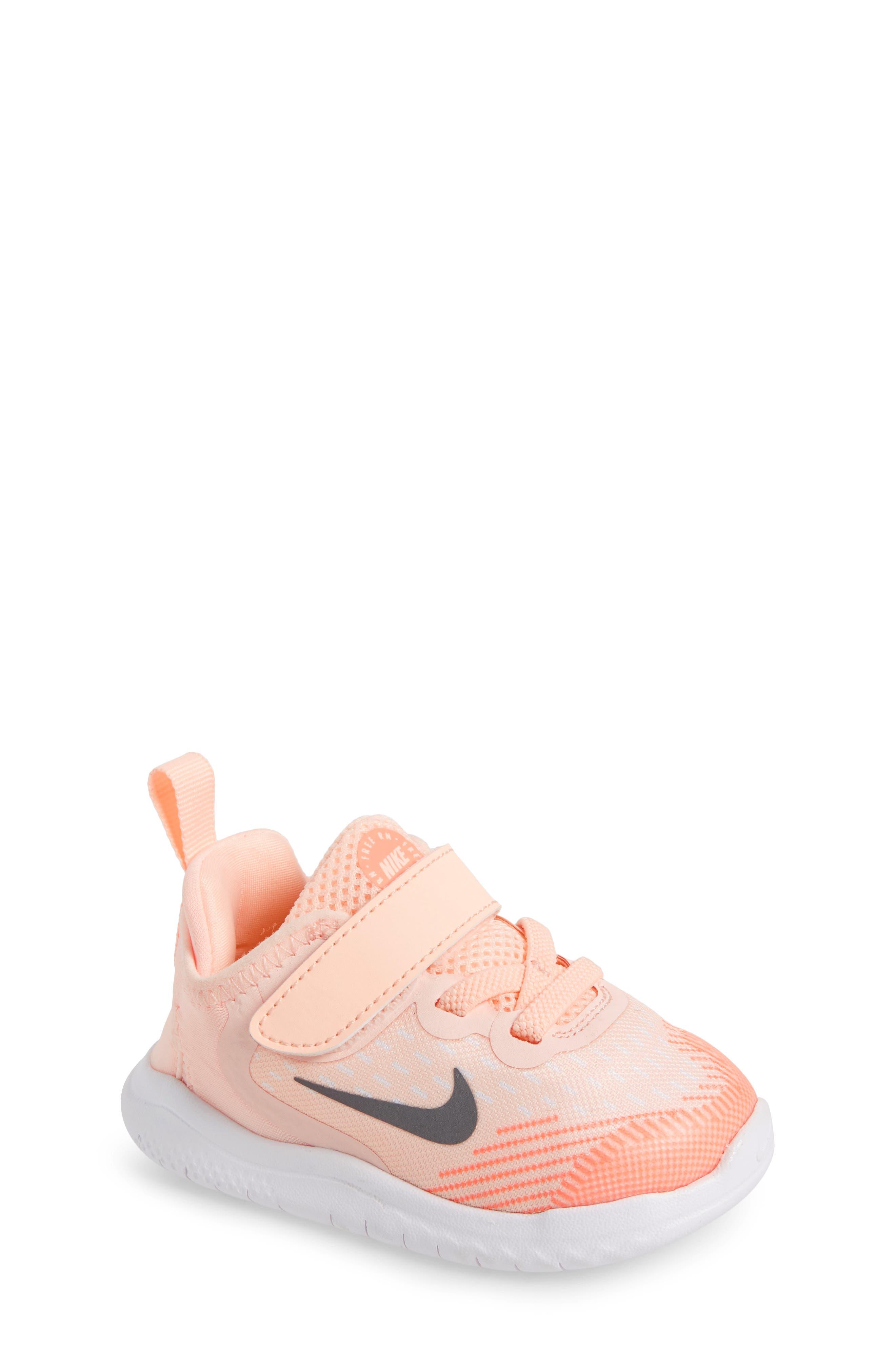 Free RN Running Shoe,                         Main,                         color, CRIMSON TINT/ GUNSMOKE/ WHITE