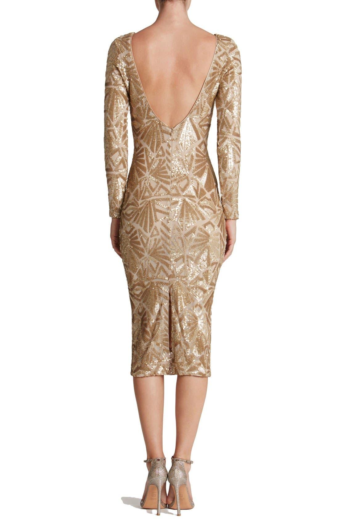 Emery Midi Dress,                             Alternate thumbnail 14, color,