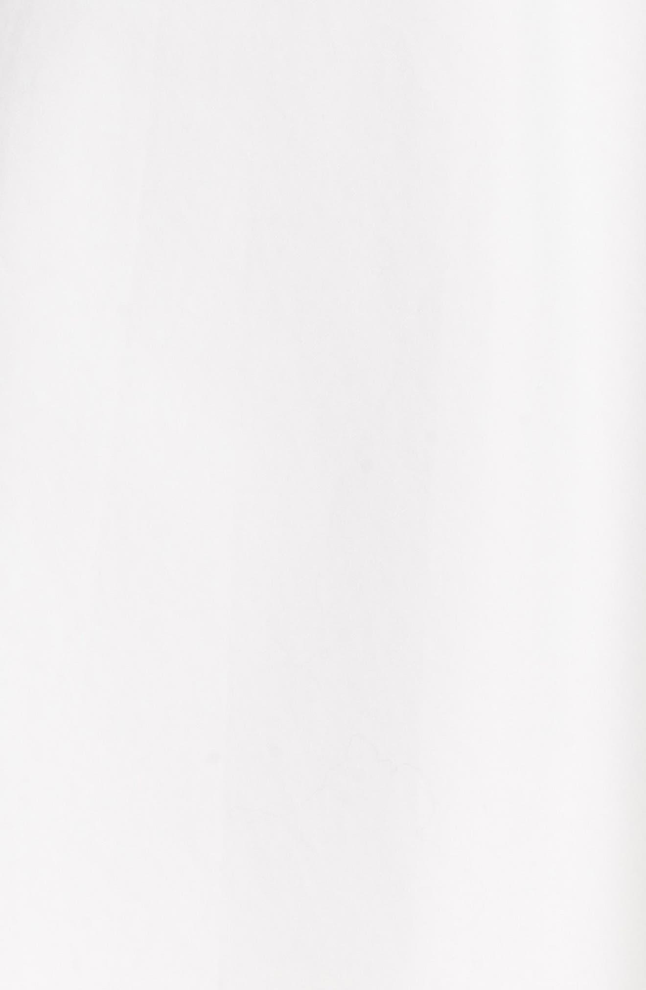 Asymmetrical Drawstring Cotton Skirt,                             Alternate thumbnail 5, color,                             137