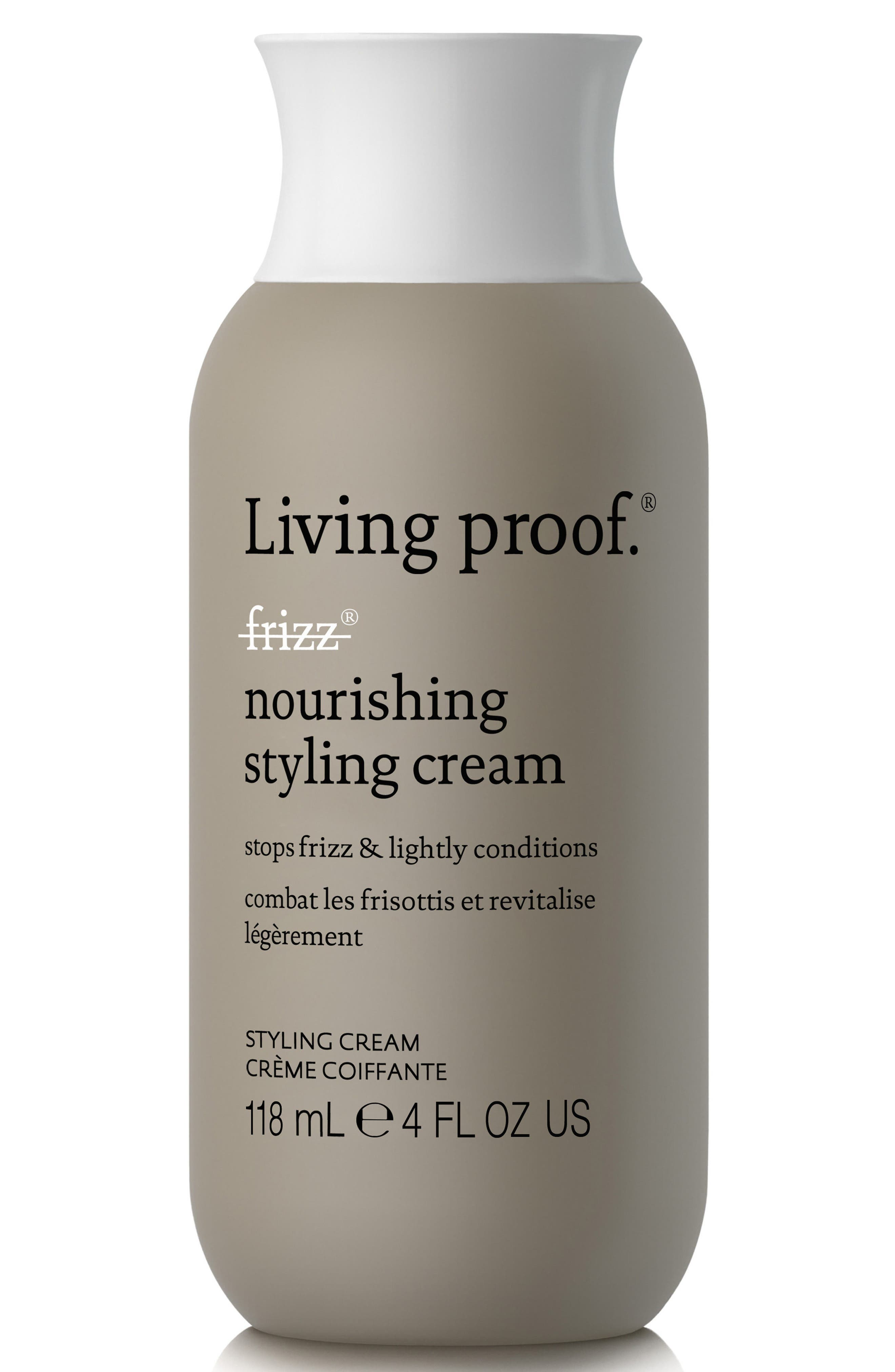 No Frizz Nourishing Styling Cream,                             Alternate thumbnail 4, color,                             NO COLOR