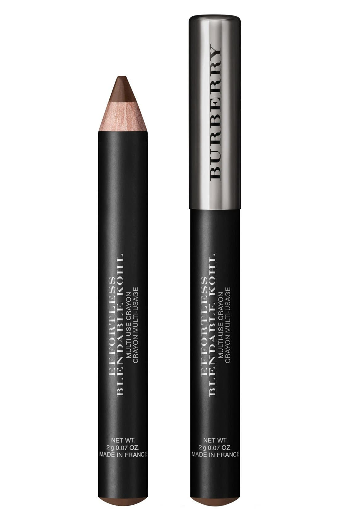 Effortless Blendable Kohl Multi-Use Pencil,                             Alternate thumbnail 2, color,                             NO. 02 CHESTNUT BROWN