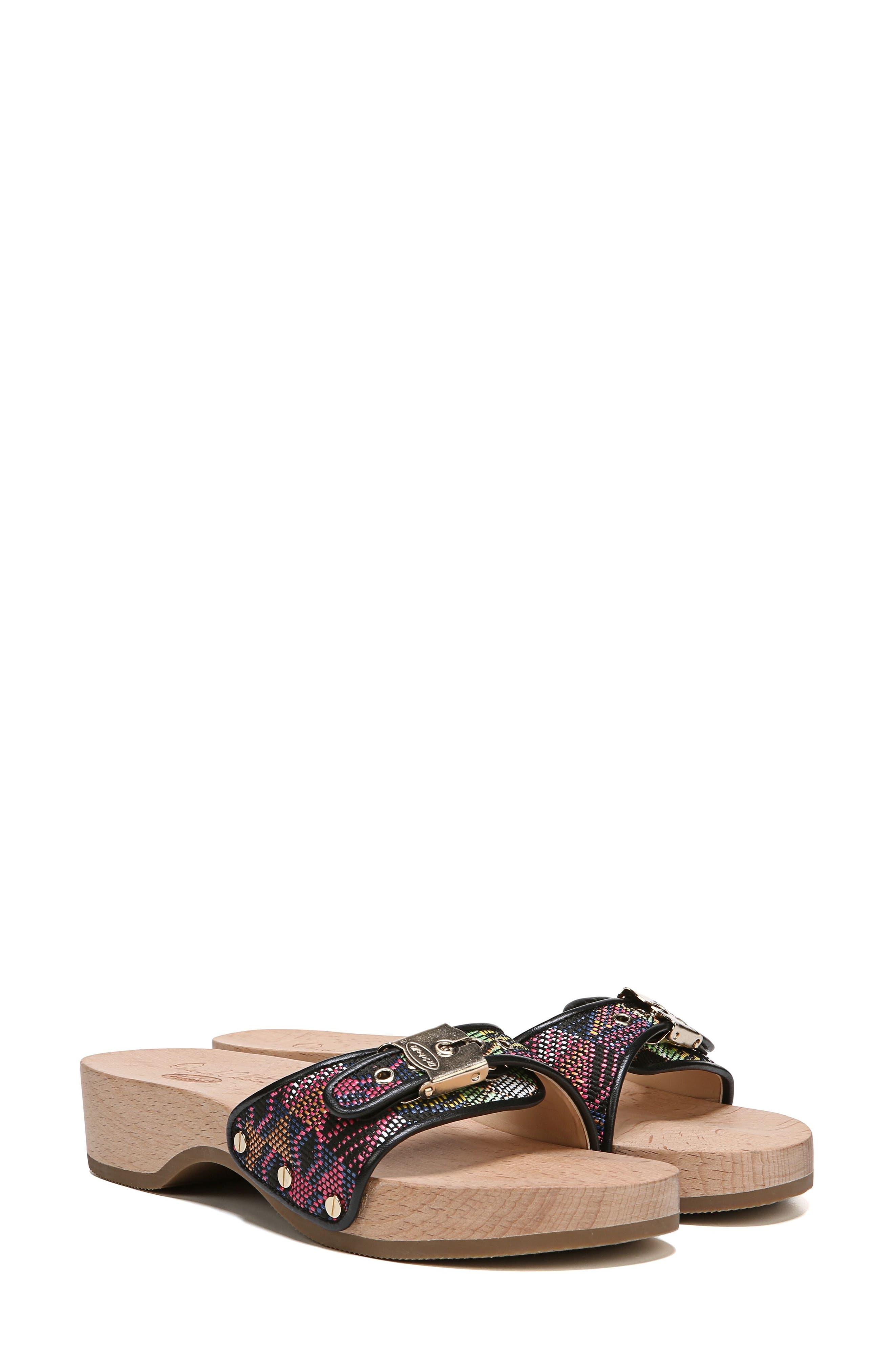 Original Collection 'Original Footbed' Sandal,                             Alternate thumbnail 7, color,                             001