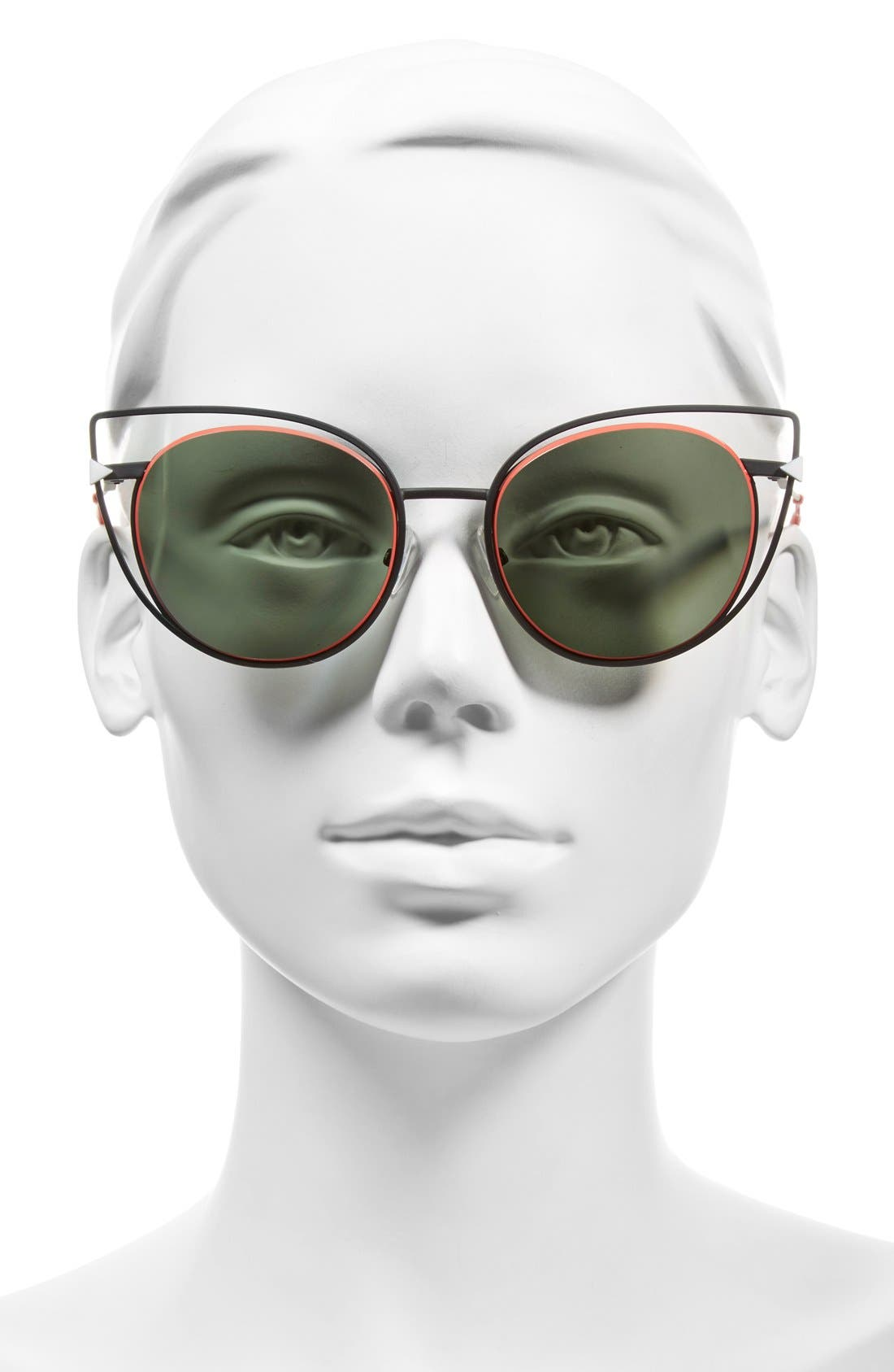 53mm Sunglasses,                             Alternate thumbnail 4, color,                             001
