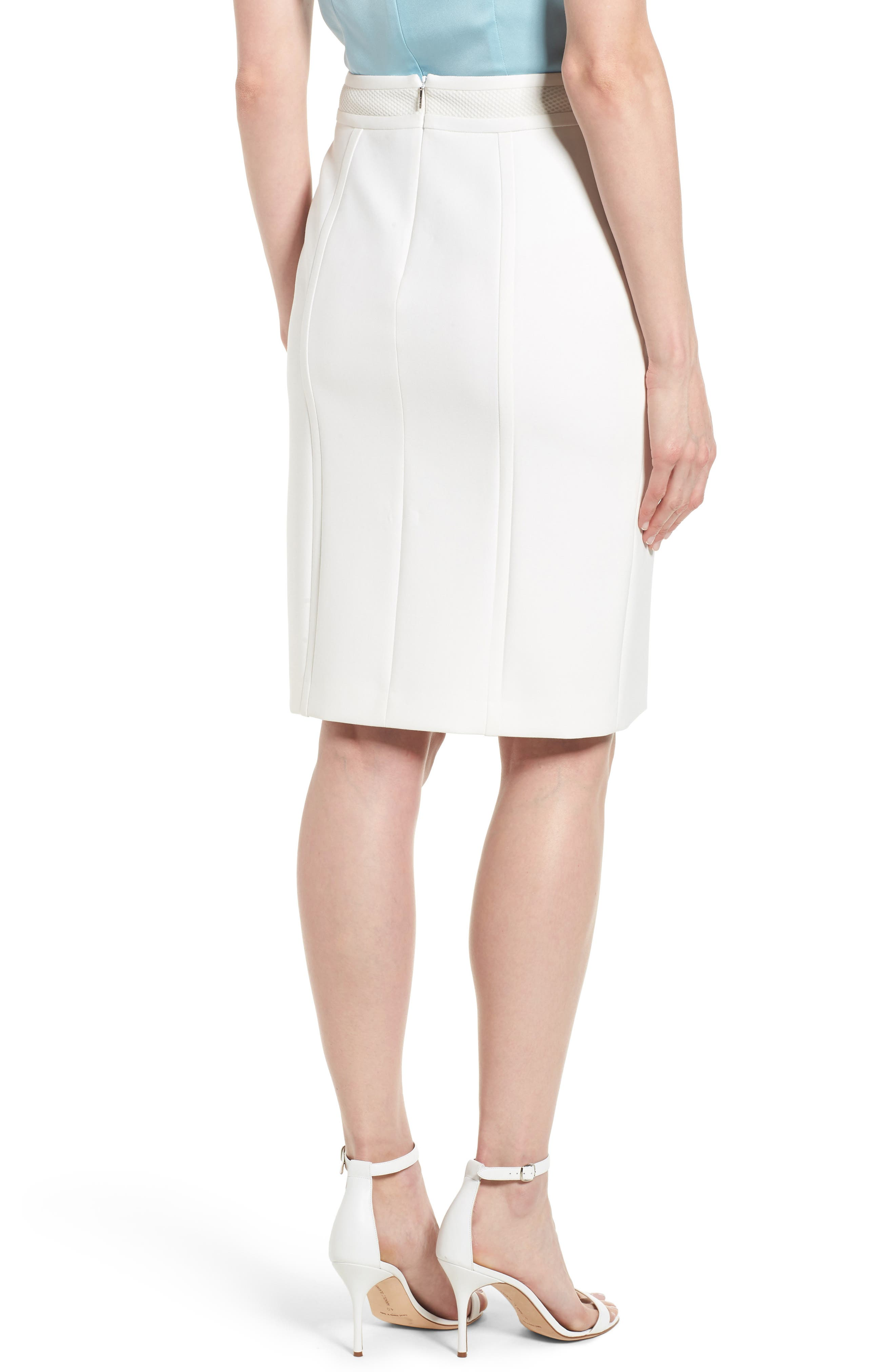 Vadama Ponte Pencil Skirt,                             Alternate thumbnail 2, color,                             112