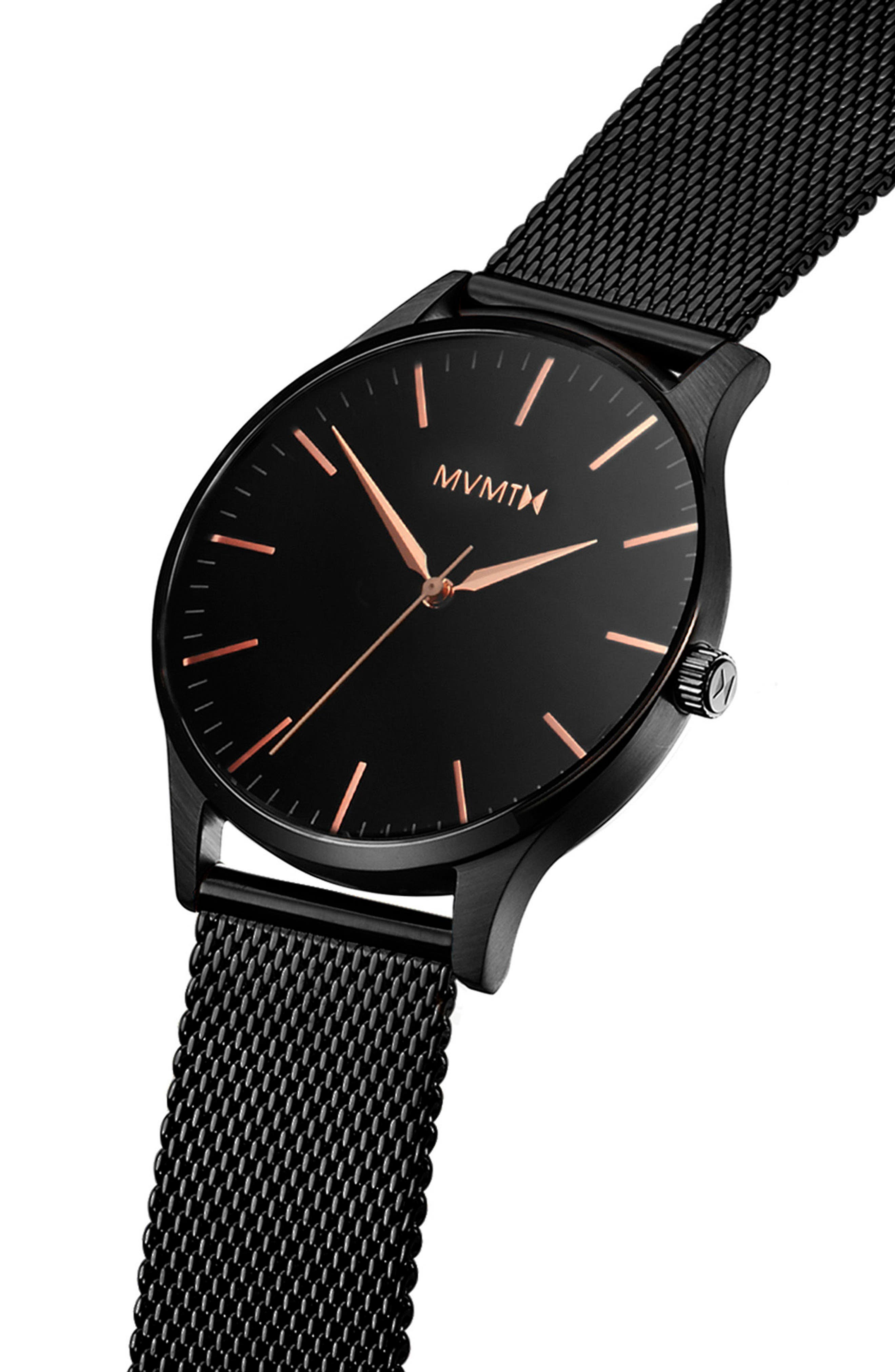 The 40 Mesh Strap Watch, 40mm,                             Alternate thumbnail 3, color,                             710