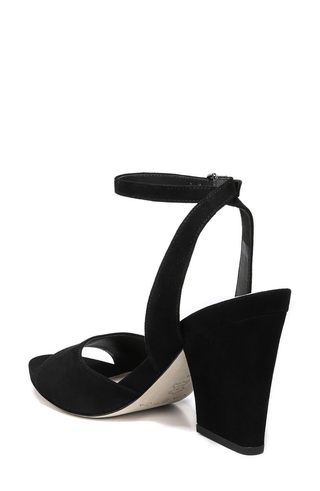 'Piper' Ankle Strap Sandal,                             Alternate thumbnail 3, color,                             003