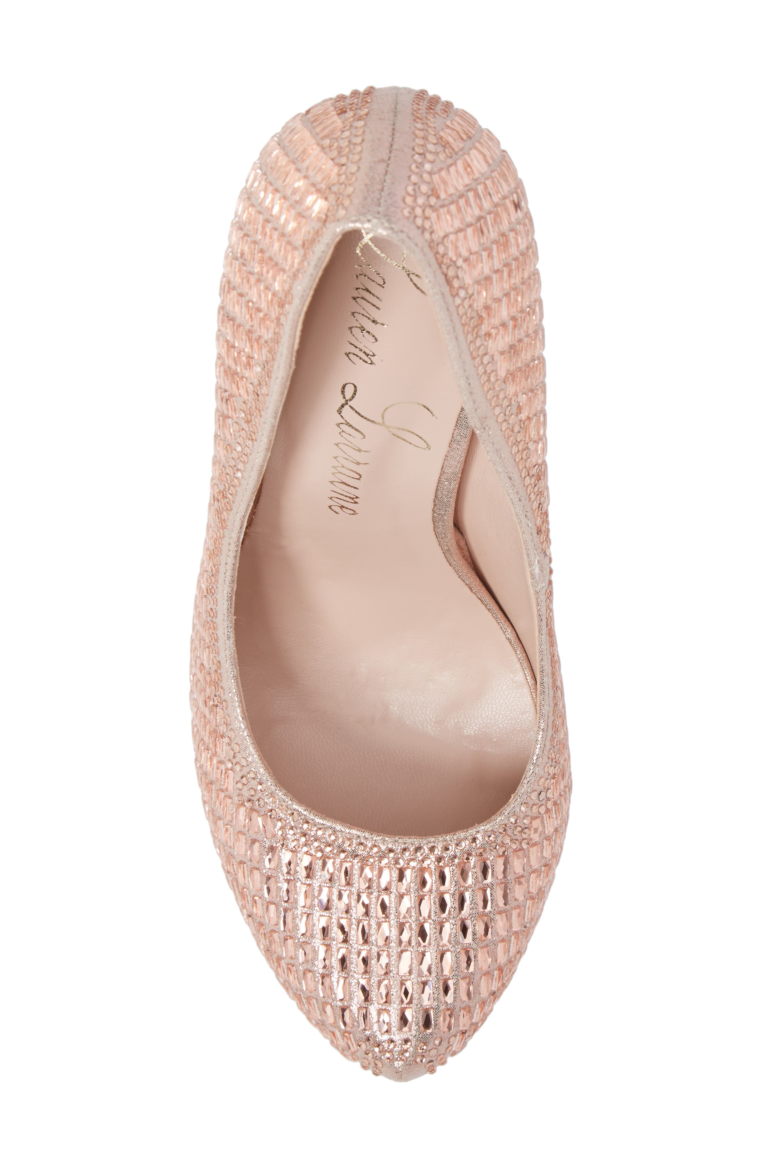 Vanna 5 Platform Pump,                             Alternate thumbnail 5, color,                             ROSE GOLD