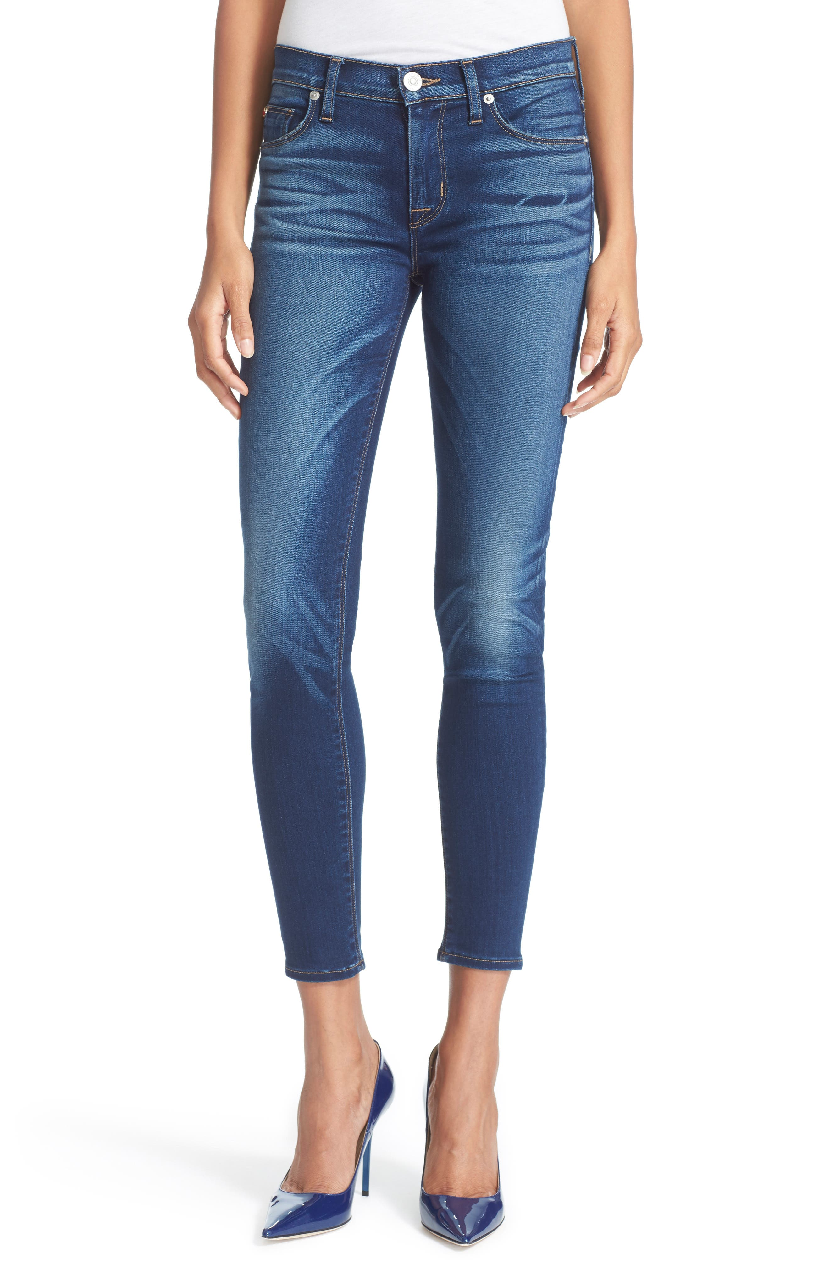 'Nico' Ankle Skinny Jeans,                             Alternate thumbnail 2, color,                             421