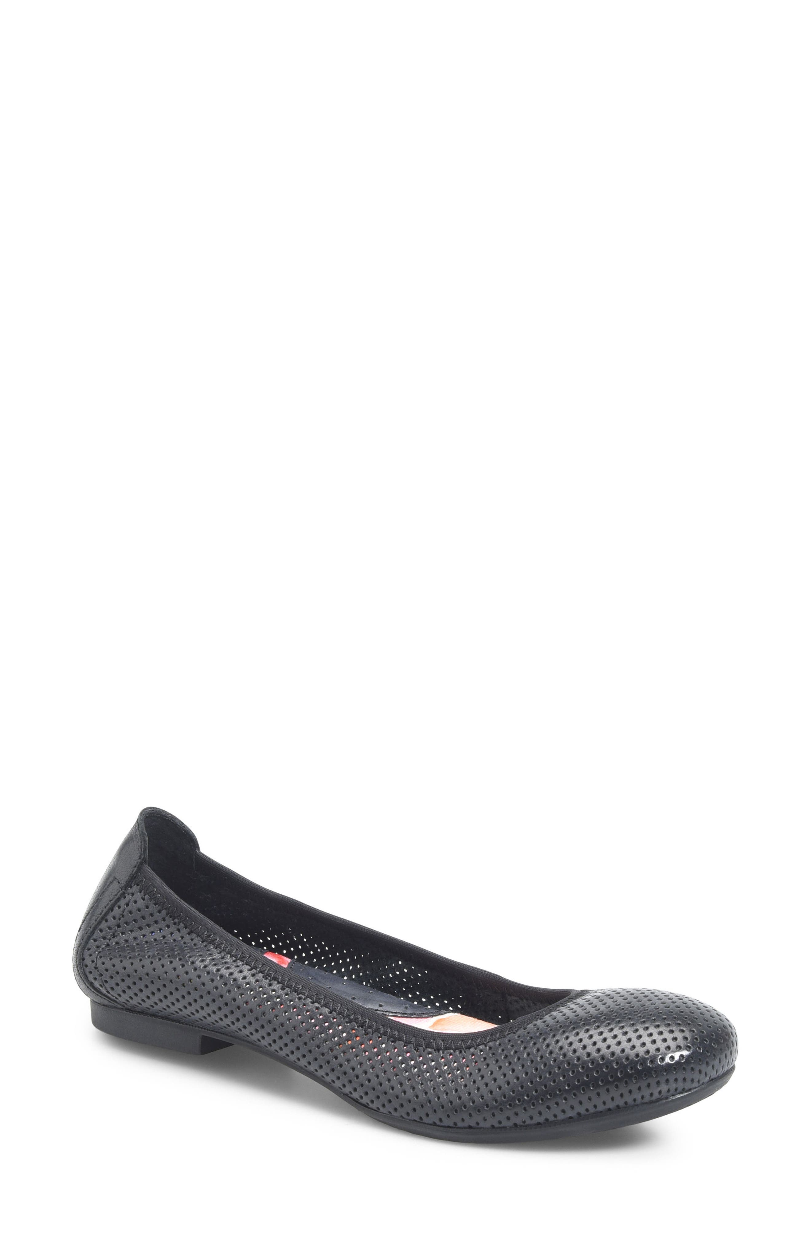 Julianne Perforated Flat,                             Main thumbnail 1, color,