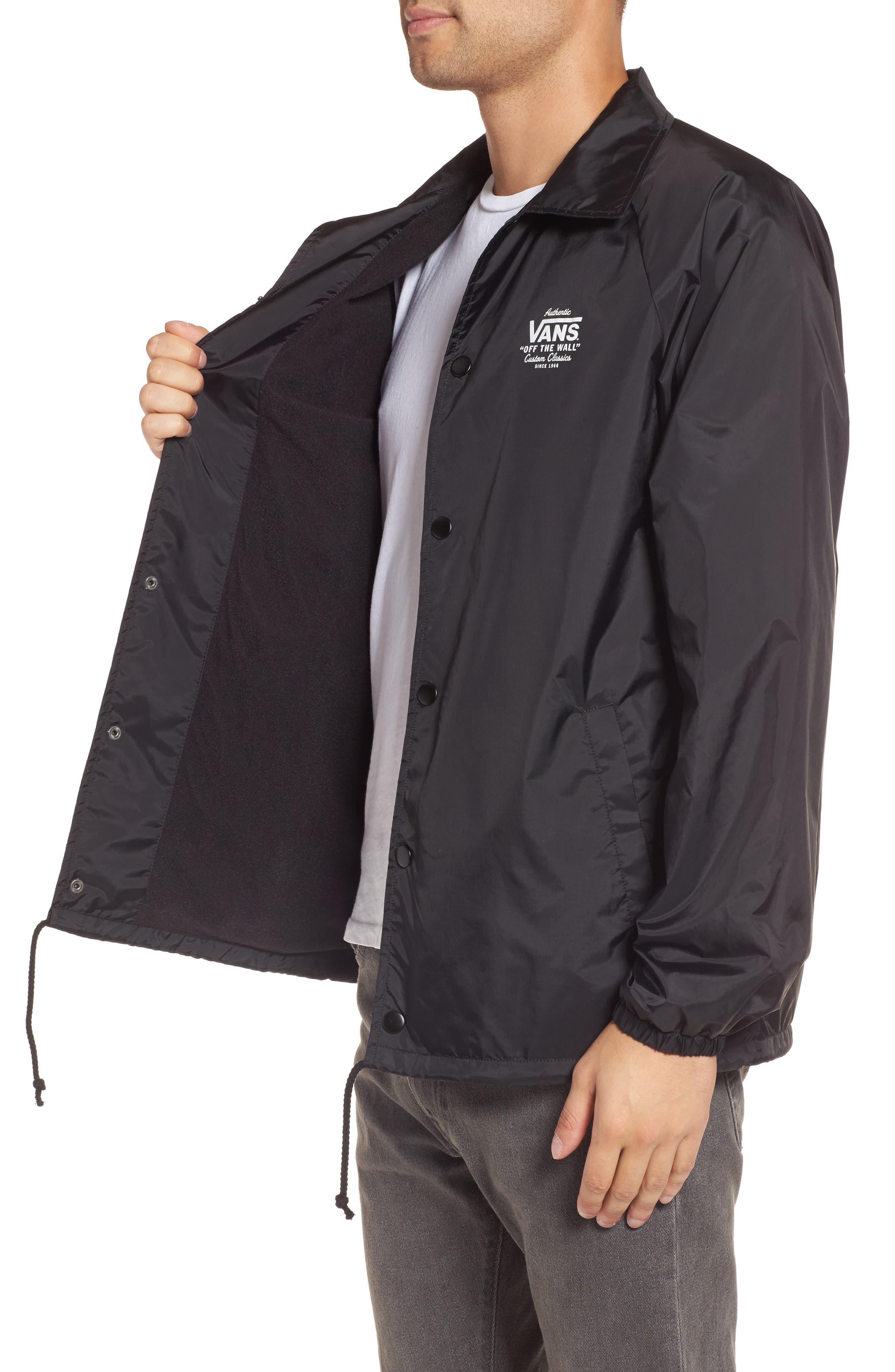Torrey Water Resistant Jacket,                             Alternate thumbnail 3, color,                             001