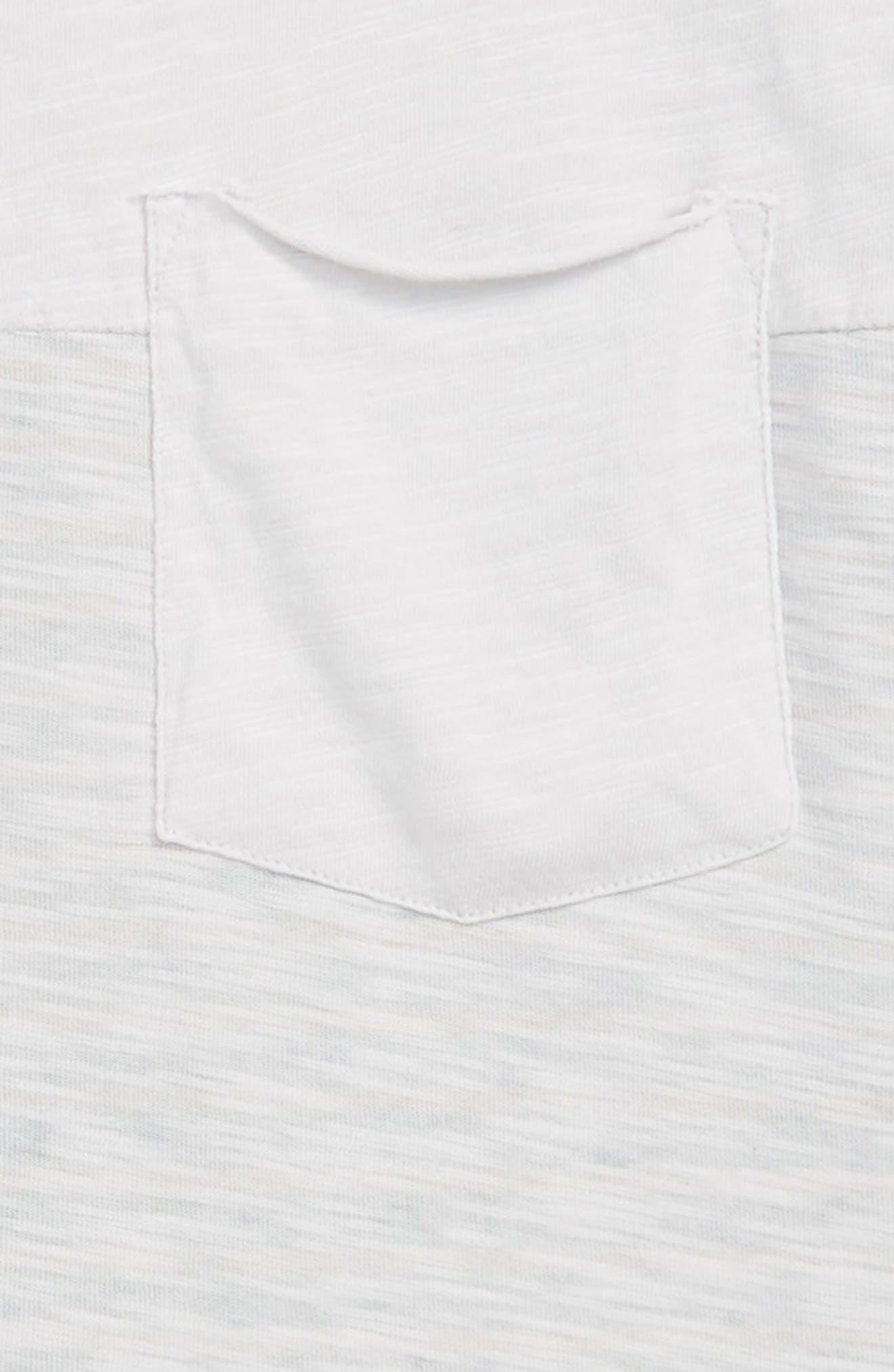 Stripe Blocked T-Shirt,                             Alternate thumbnail 2, color,