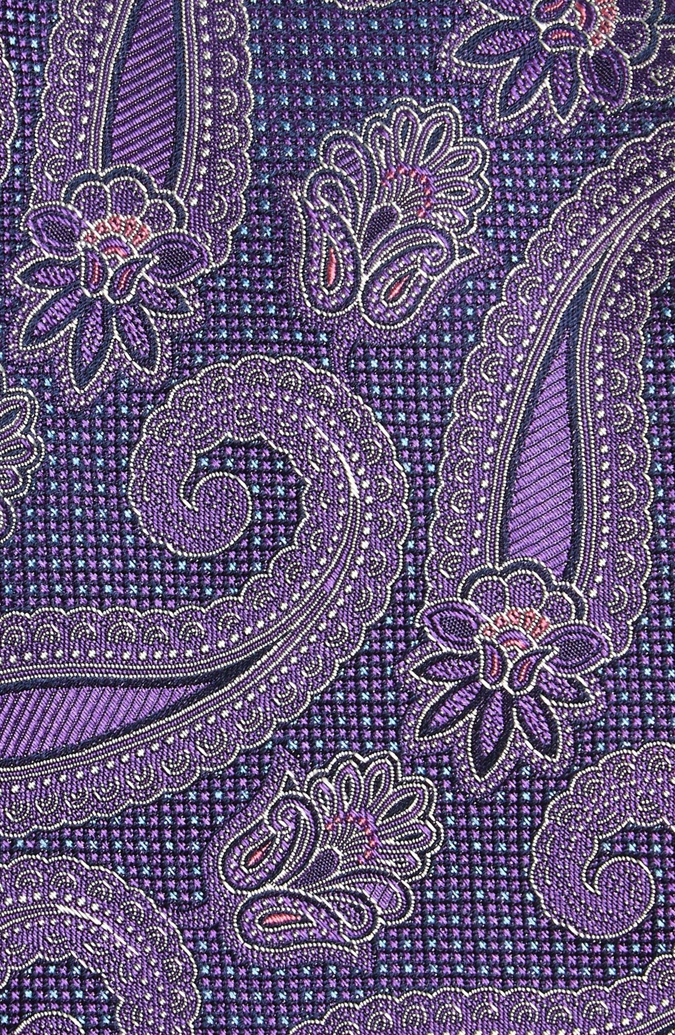 Emery Paisley Silk Tie,                             Alternate thumbnail 7, color,