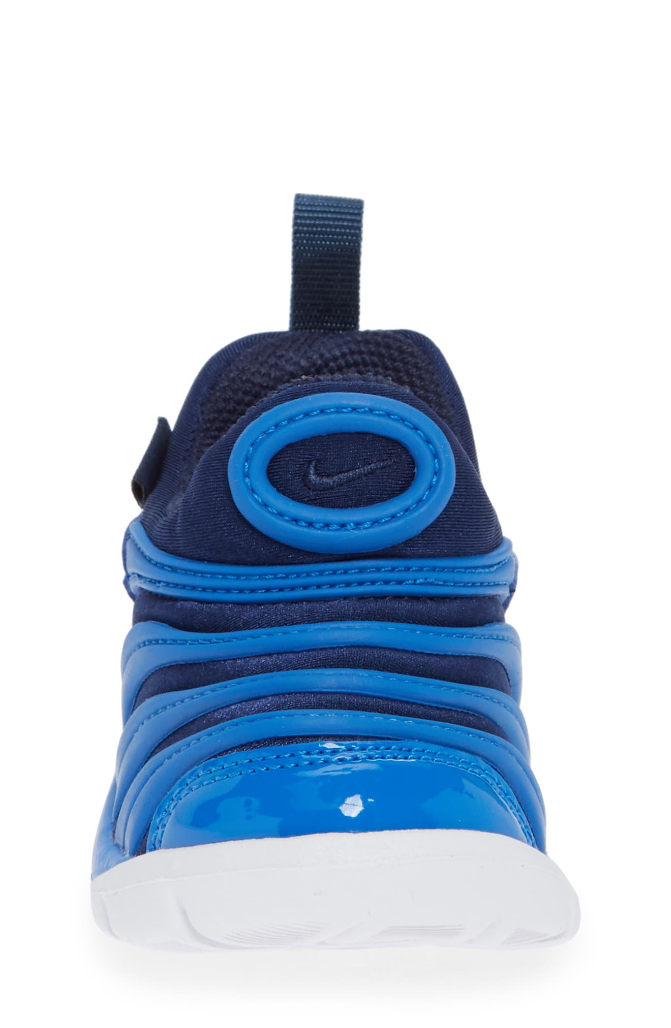 Dynamo Free Sneaker,                             Alternate thumbnail 4, color,                             SIGNAL BLUE/ MIDNIGHT/ WHITE