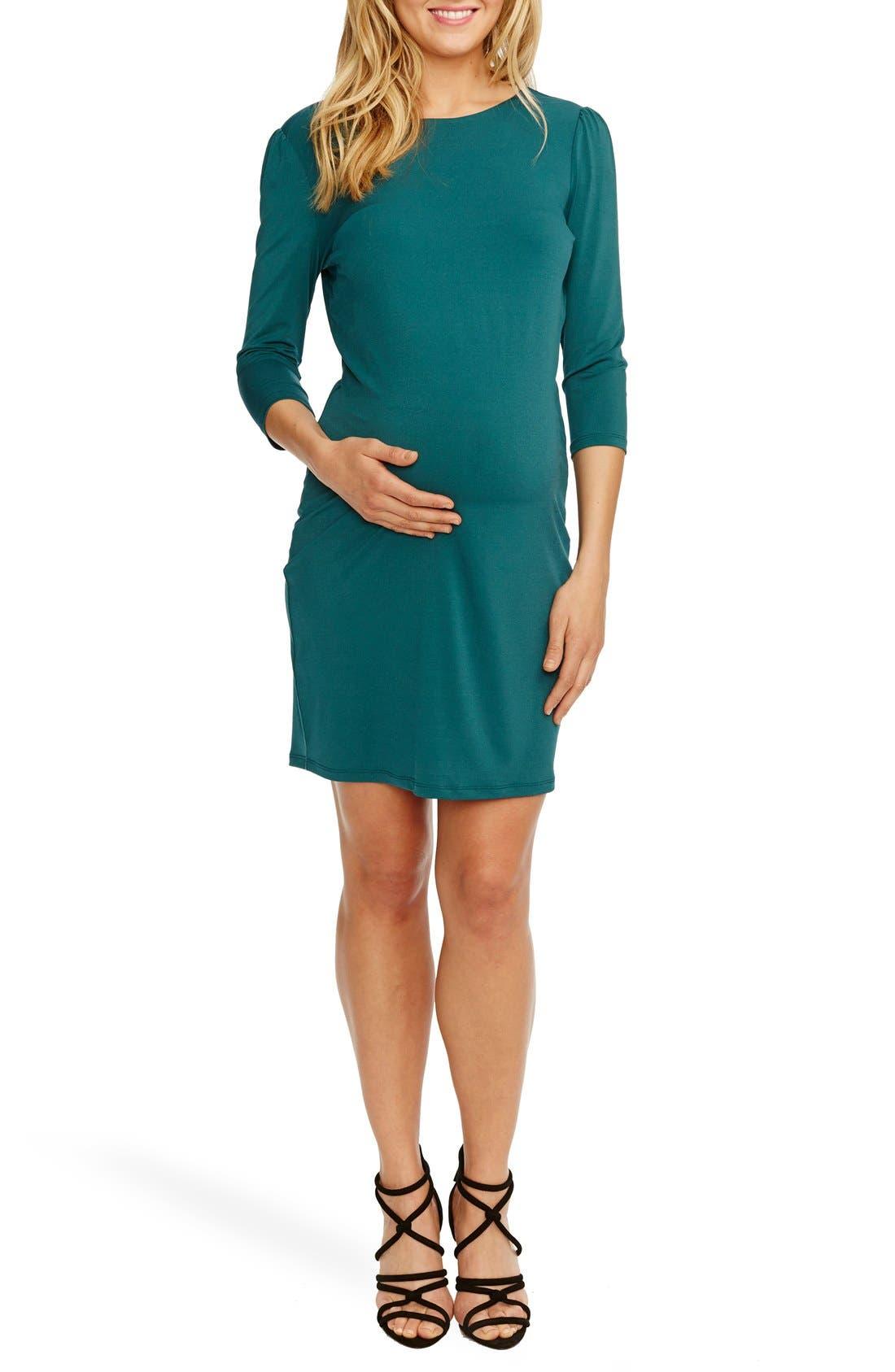 'Audra' Maternity Dress,                             Main thumbnail 1, color,                             401