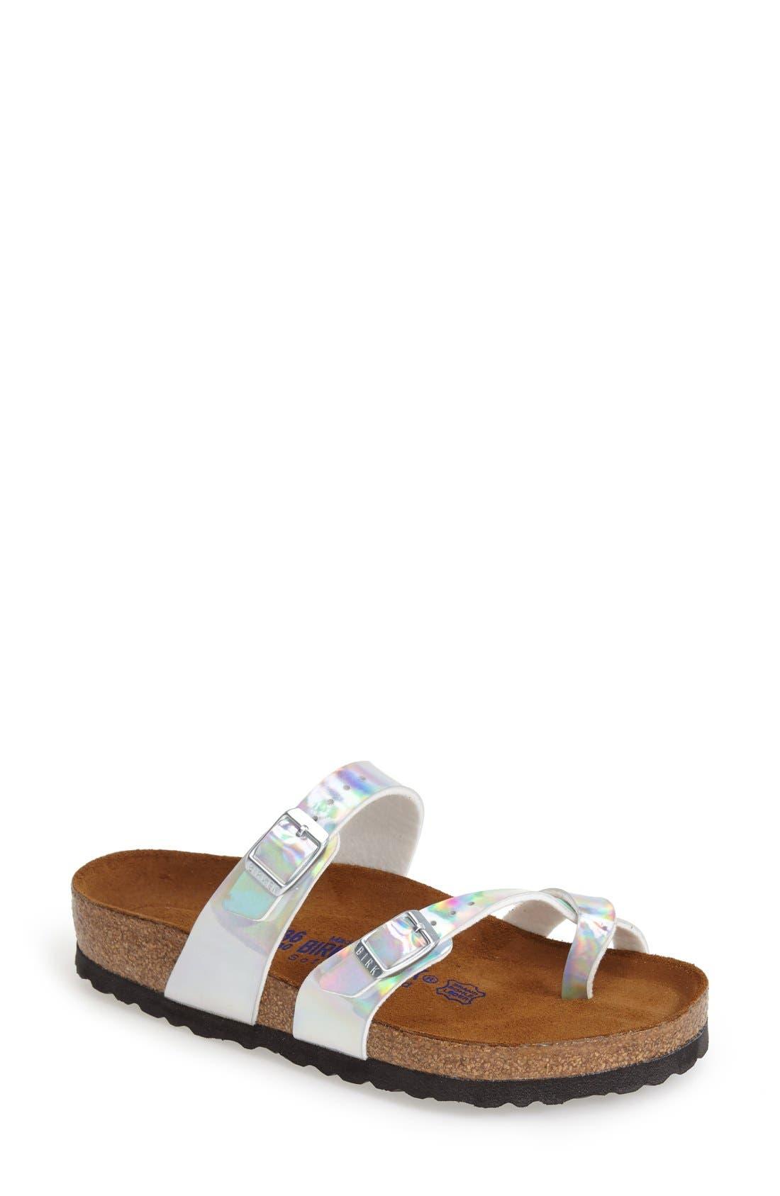 'Mayari' Birko-Flor<sup>™</sup> Sandal,                             Main thumbnail 1, color,                             040