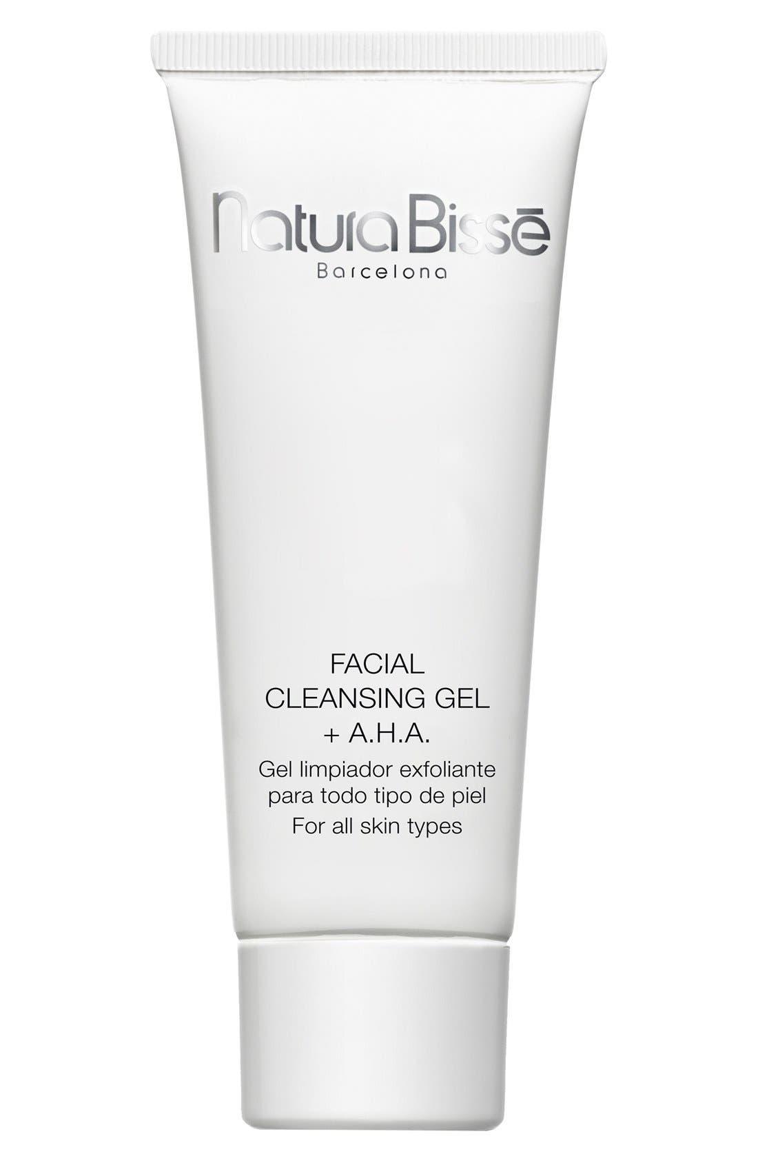 Natura Bissé Facial Cleansing Gel + A.H.A.,                             Main thumbnail 1, color,                             000