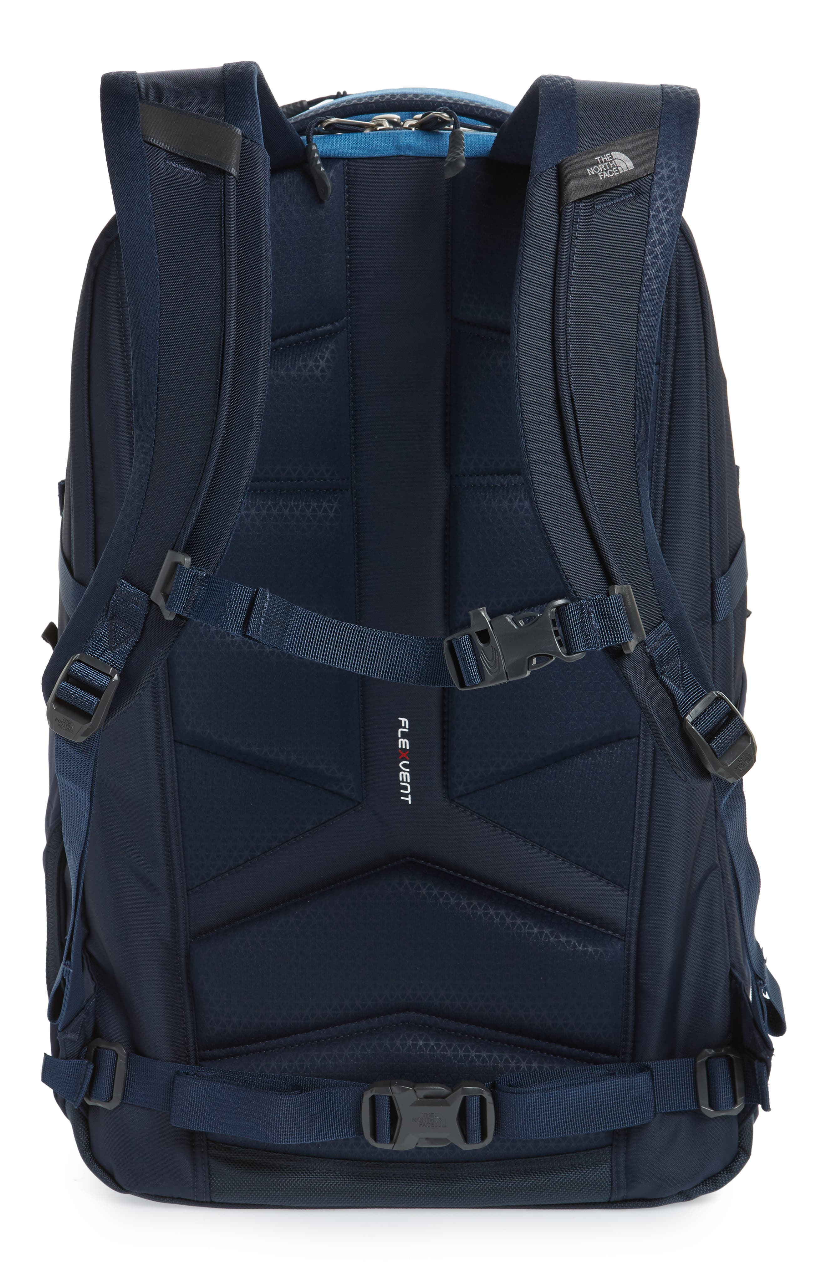 THE NORTH FACE,                             Router Backpack,                             Alternate thumbnail 3, color,                             DISH BLUE HEATHER/ URBAN NAVY