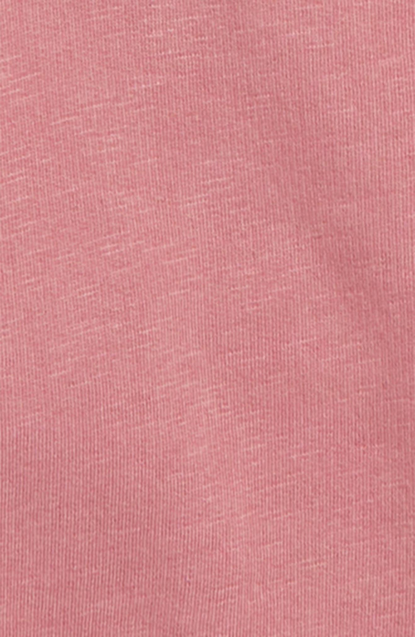 Bubble Sleeve Sweatshirt,                             Alternate thumbnail 2, color,                             PINK DECO