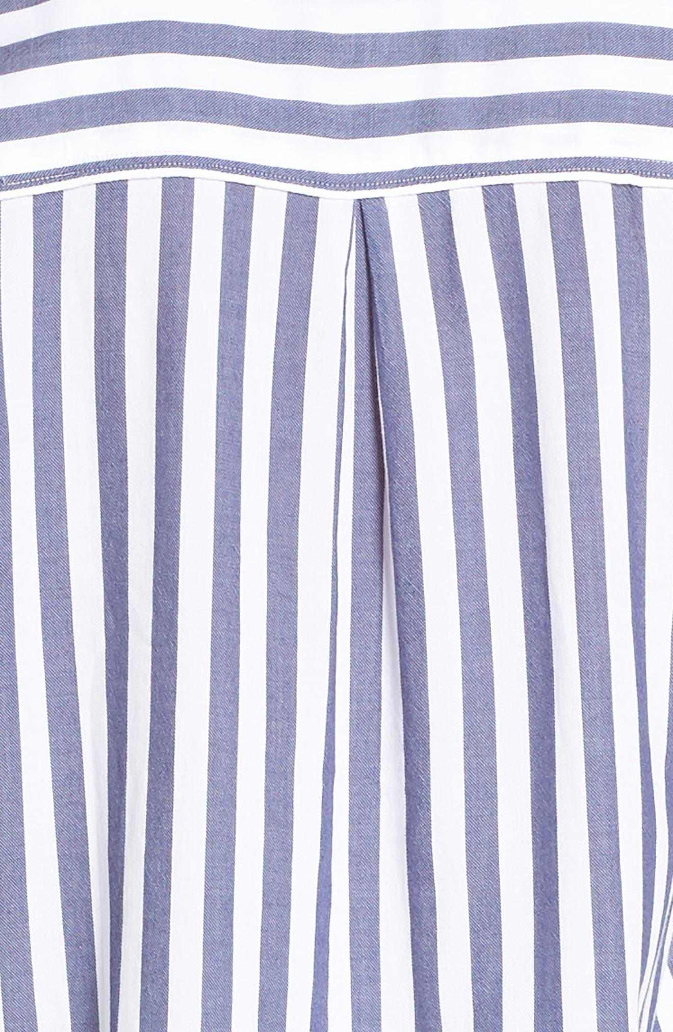 Stripe Pajamas,                             Alternate thumbnail 5, color,                             ALBANY STRIPE
