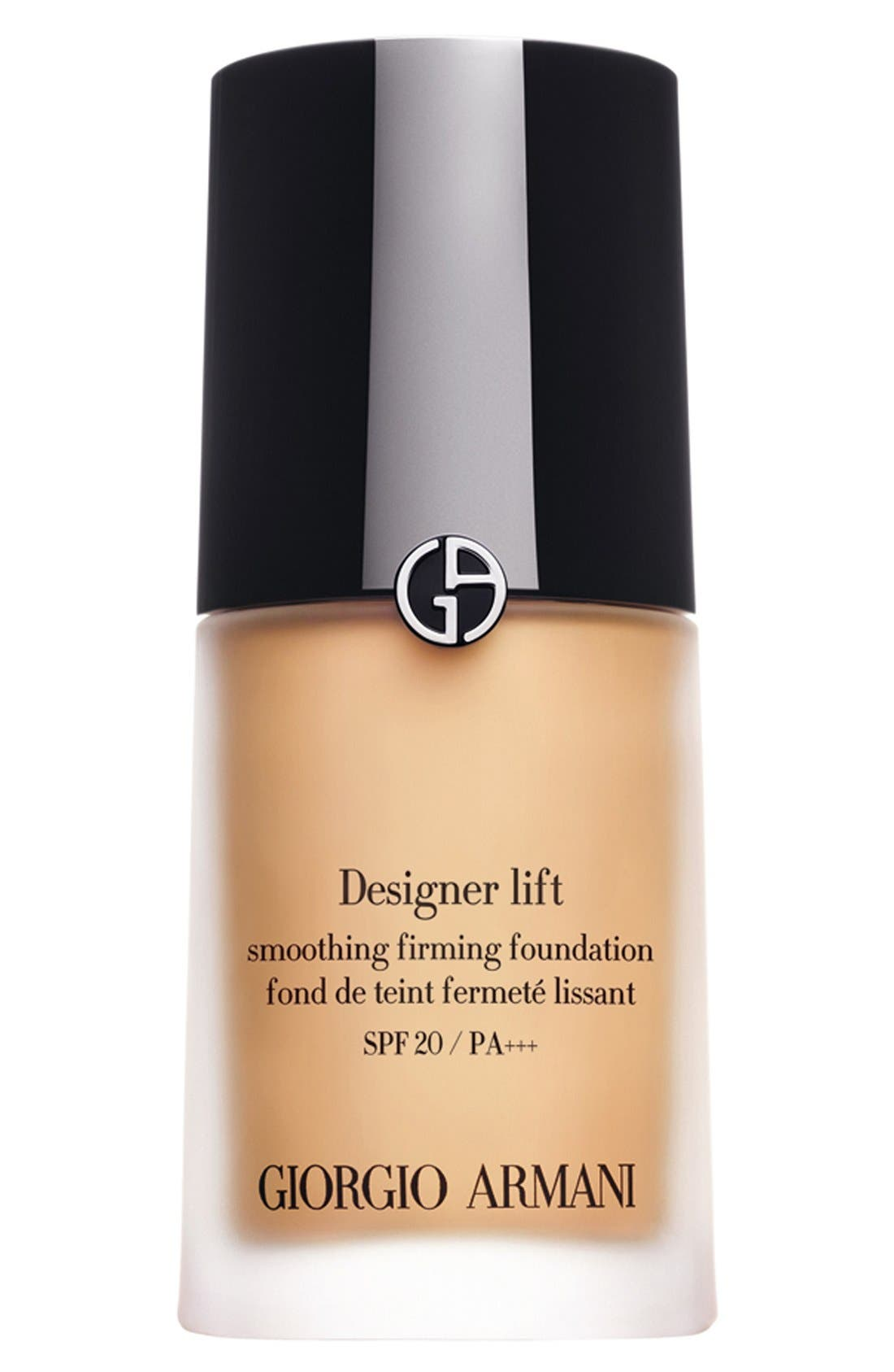 Designer Lift Smooth Firming Foundation SPF 20/PA +++,                             Main thumbnail 1, color,                             02 LIGHT/WARM