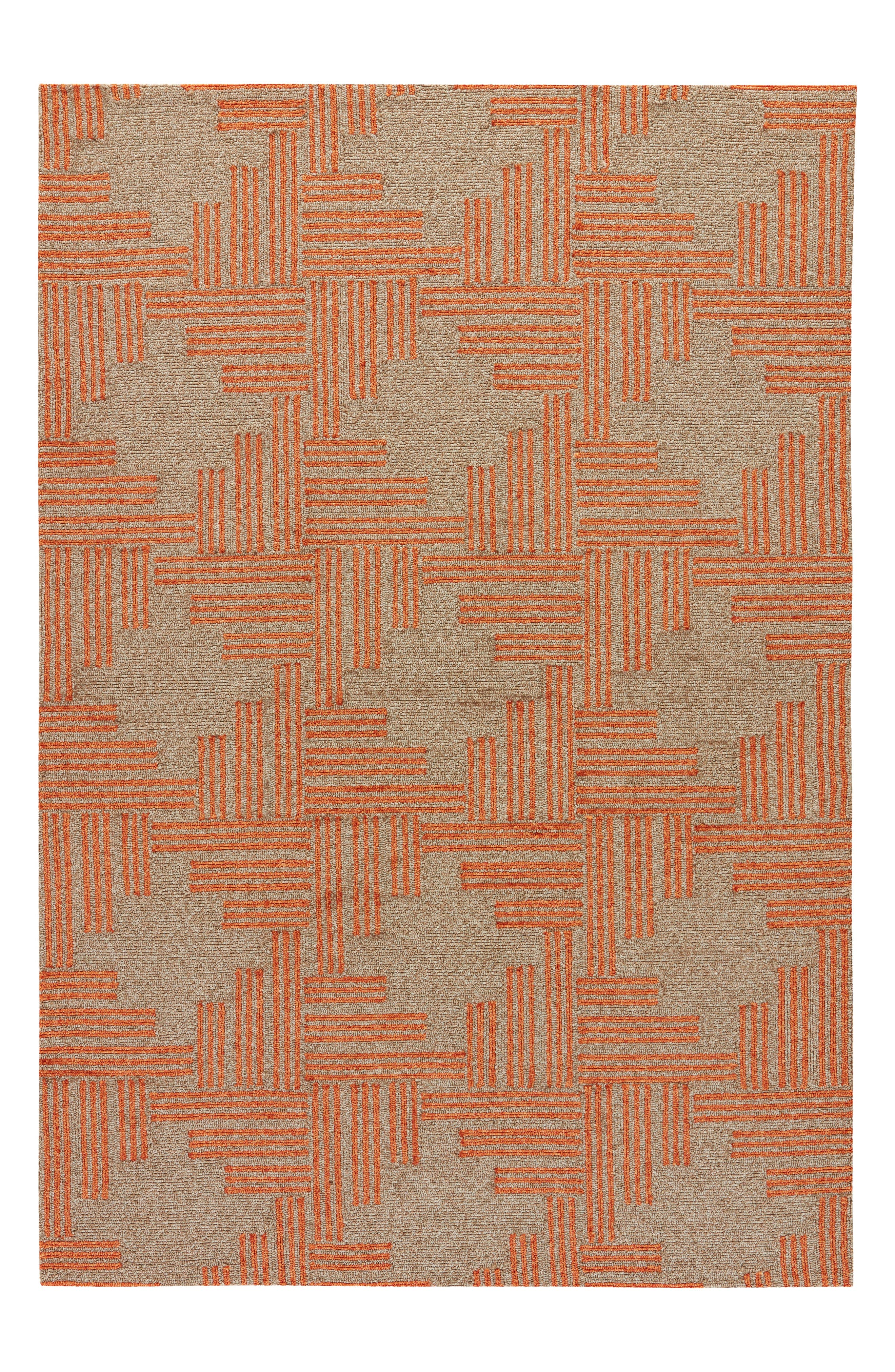 Contemporary Geo Cross Rug,                             Alternate thumbnail 2, color,                             250