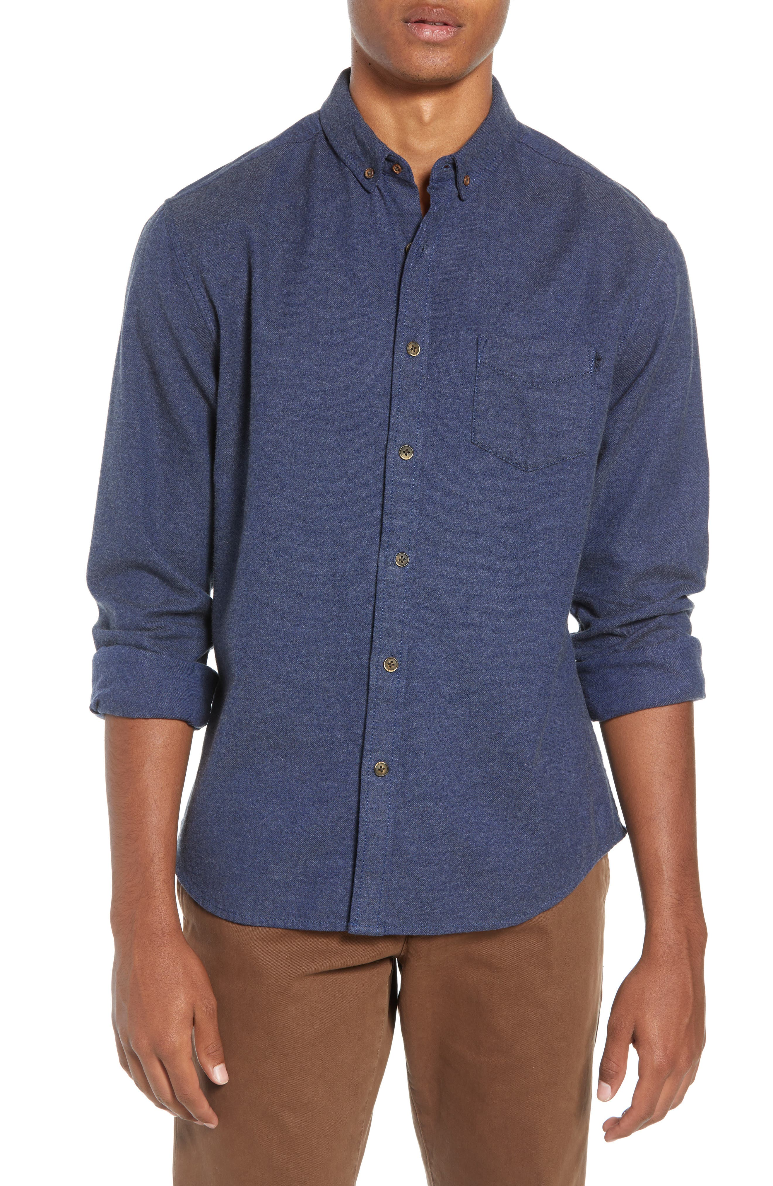 LIFE/AFTER/DENIM Greenpoint Regular Fit Sport Shirt, Main, color, 400
