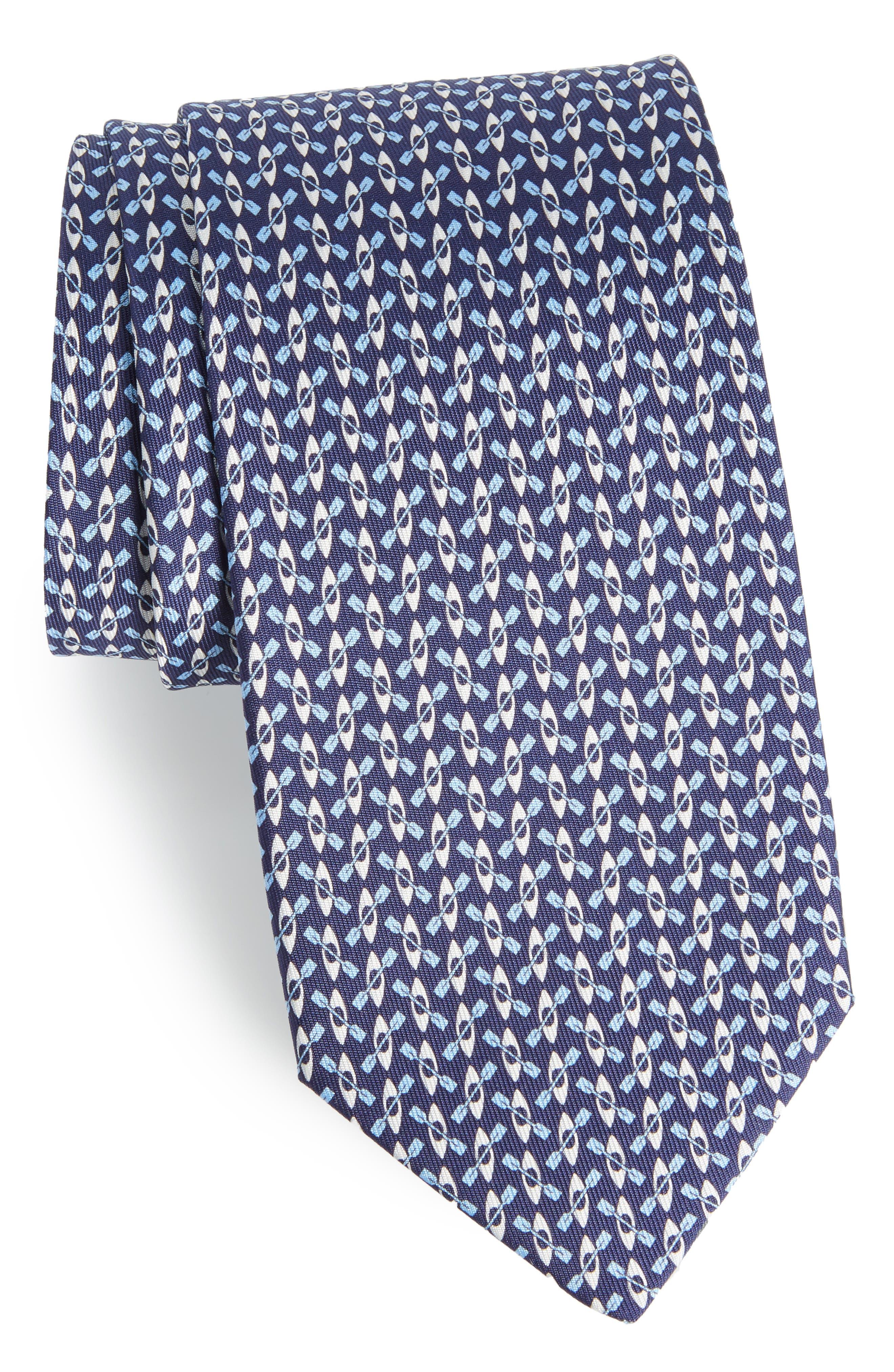 Elias Print Silk Tie,                         Main,                         color,