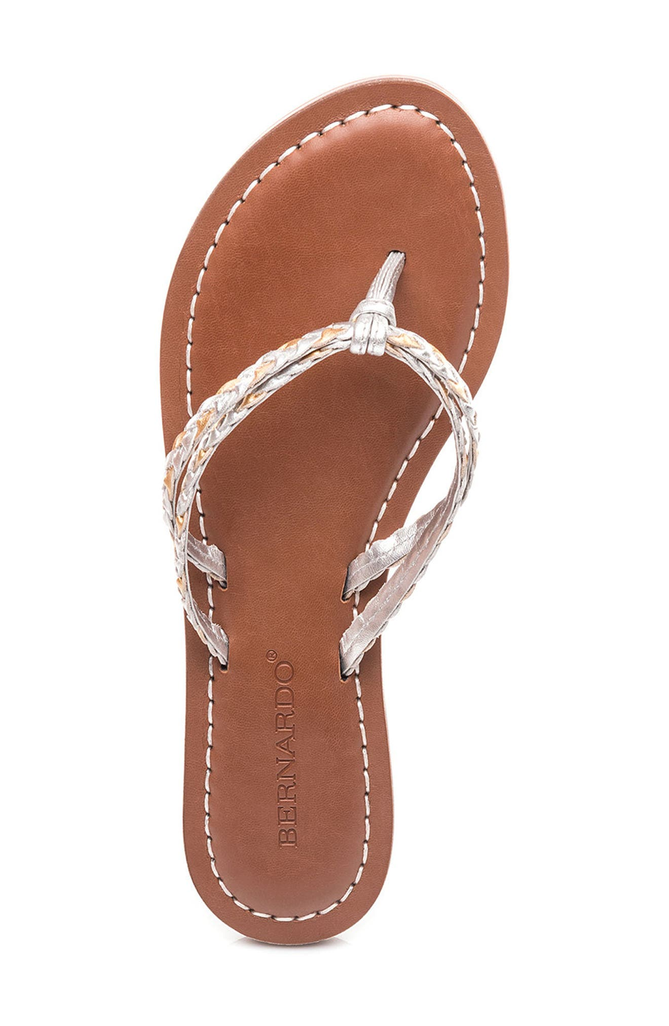 Bernardo Greta Braided Strap Sandal,                             Alternate thumbnail 30, color,