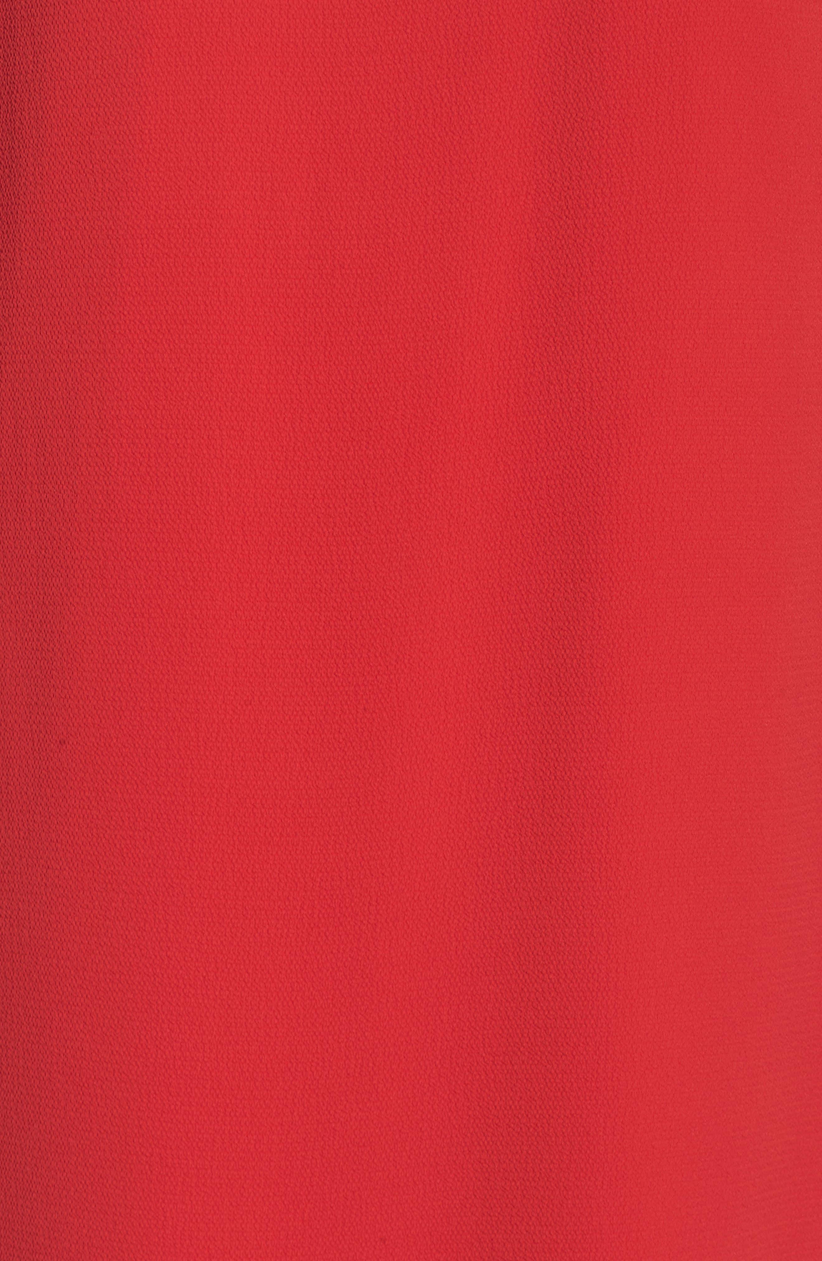 Catalina Ruffle Sleeve Dress,                             Alternate thumbnail 5, color,                             648