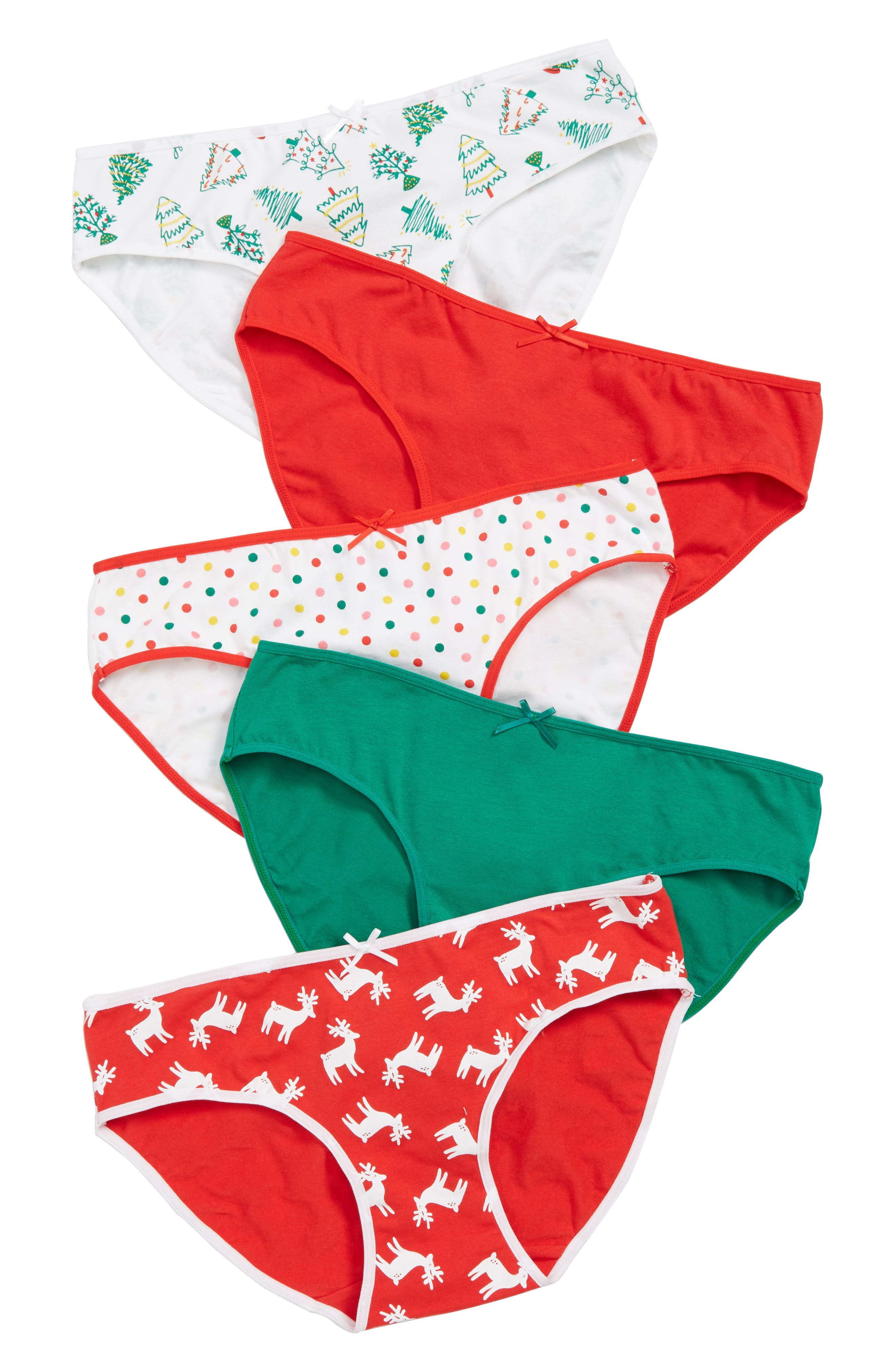 5-Pack Hipster Briefs,                             Alternate thumbnail 2, color,                             HOLIDAY CHEER PACK