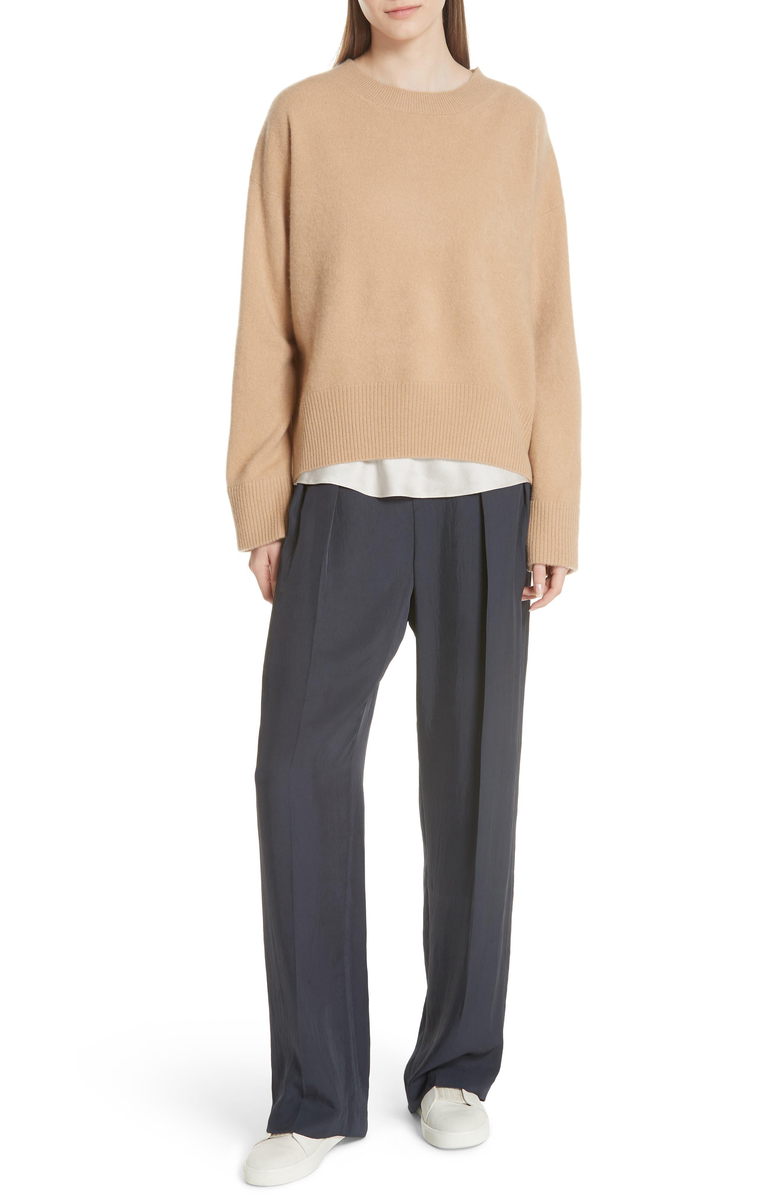 Cashmere Oversize Sweater,                             Alternate thumbnail 7, color,                             203