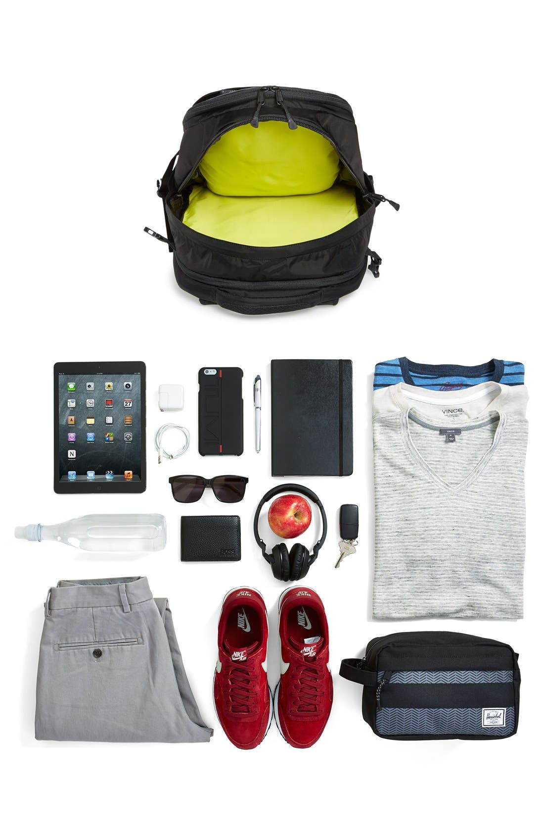 'Inductor Charged' Backpack,                             Alternate thumbnail 3, color,                             001