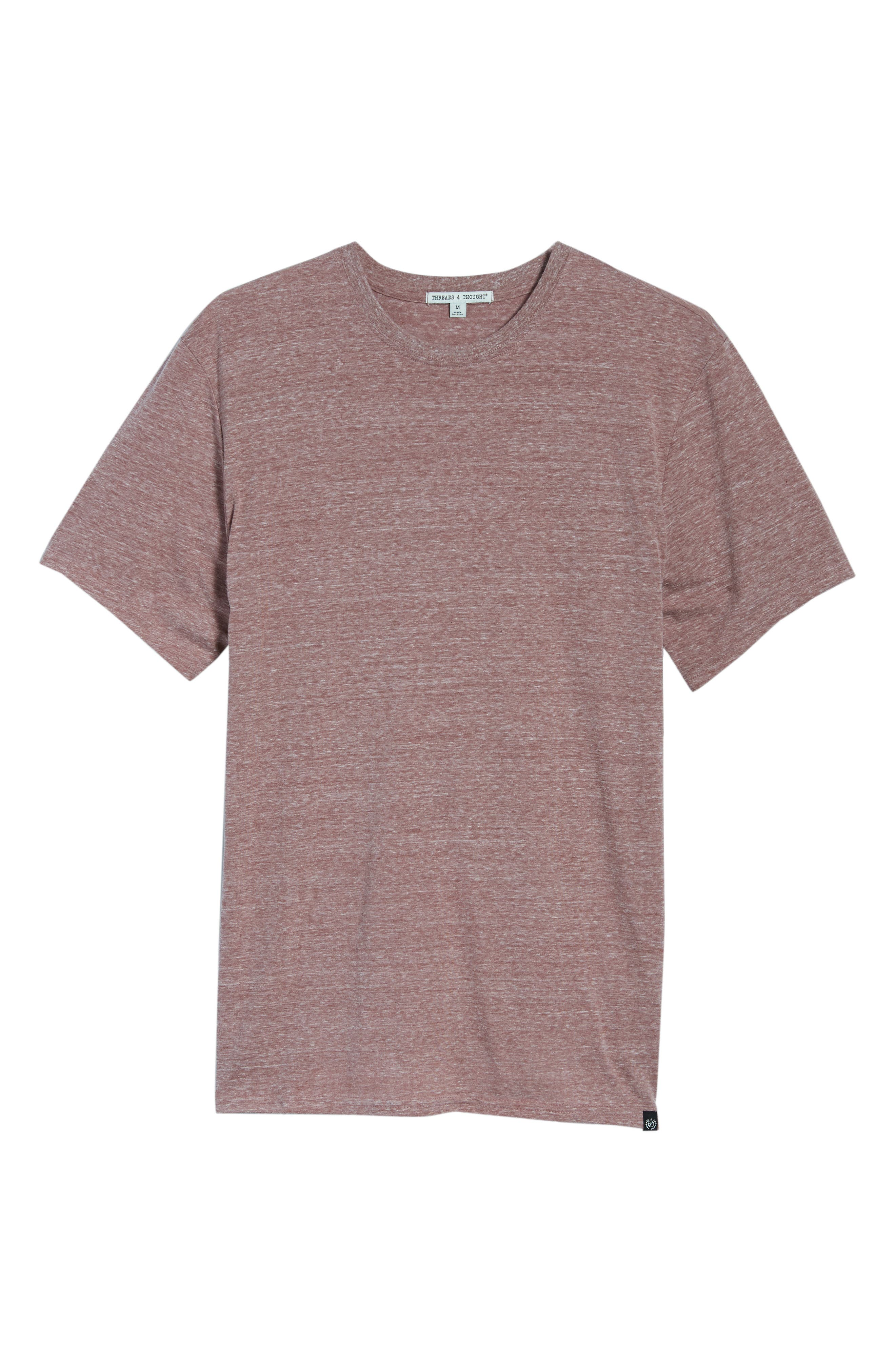 Threads for Thought Heathered Crew Neck,                             Alternate thumbnail 41, color,