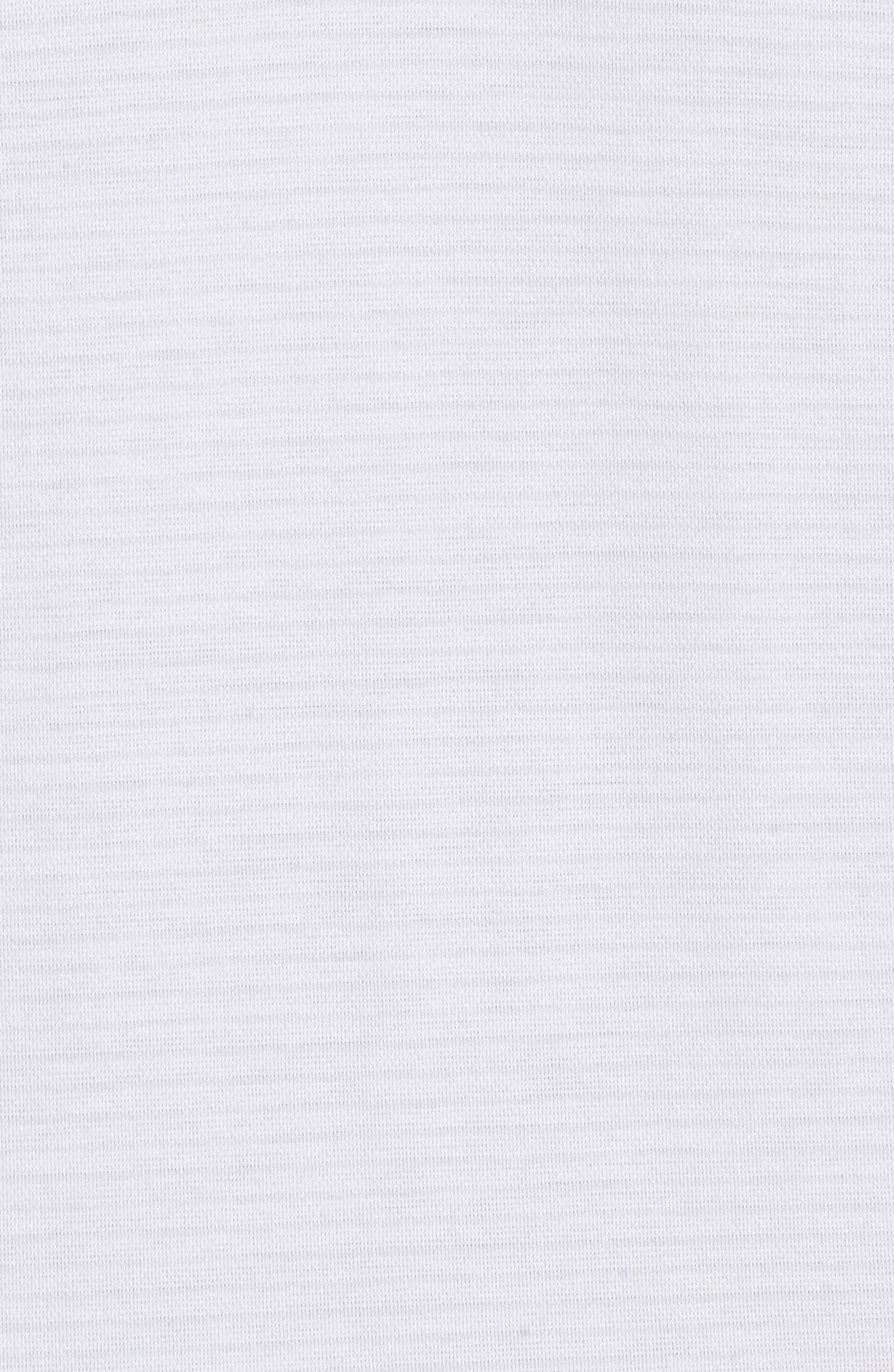 Reece Pinstripe Polo,                             Alternate thumbnail 5, color,                             100