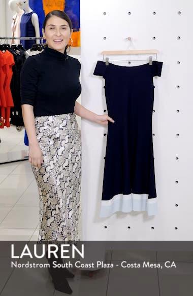 Fit & Flare Knit Dress, sales video thumbnail