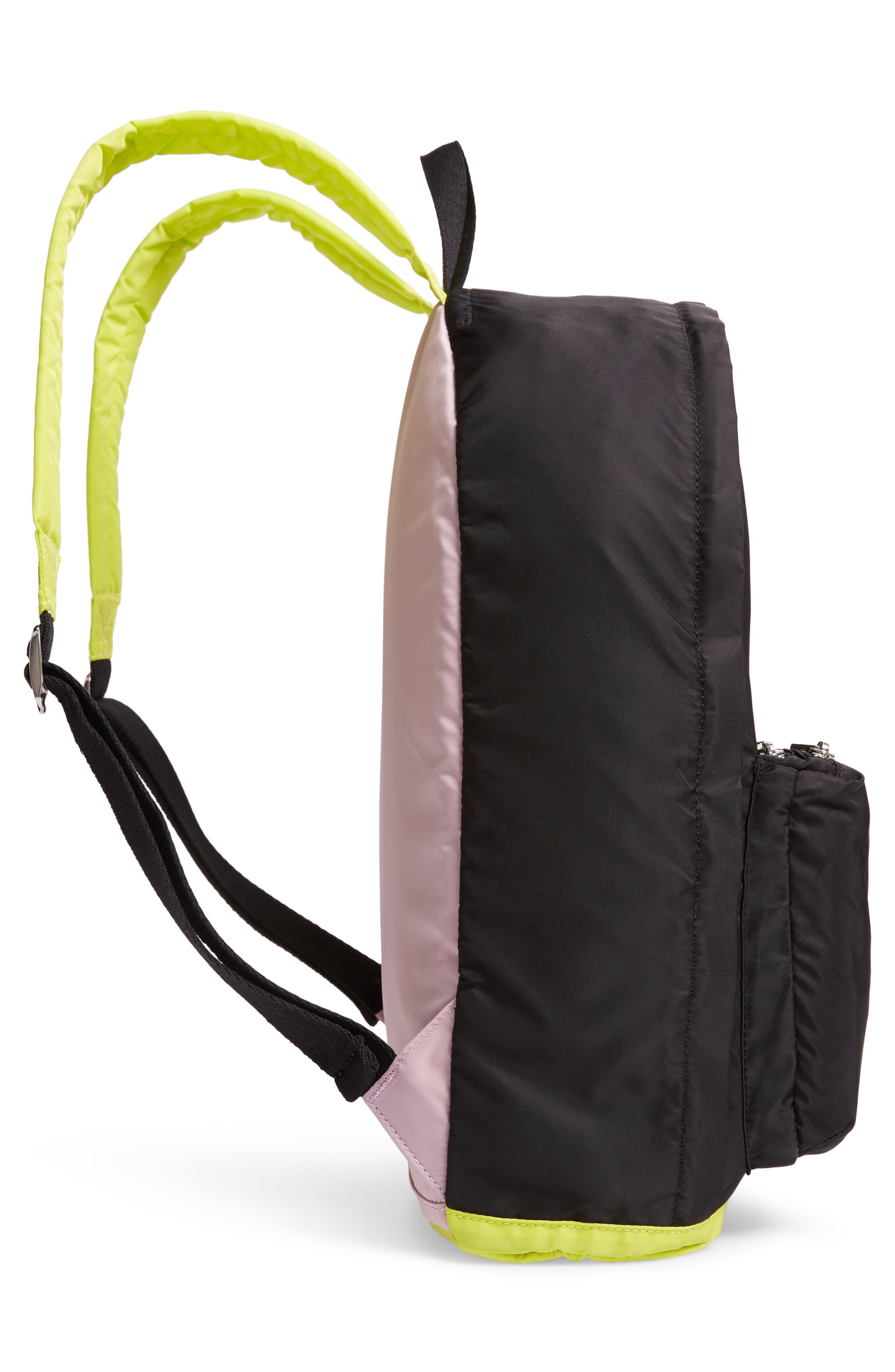 The Heights Lorimer Backpack,                             Alternate thumbnail 5, color,                             BLACK MULTI