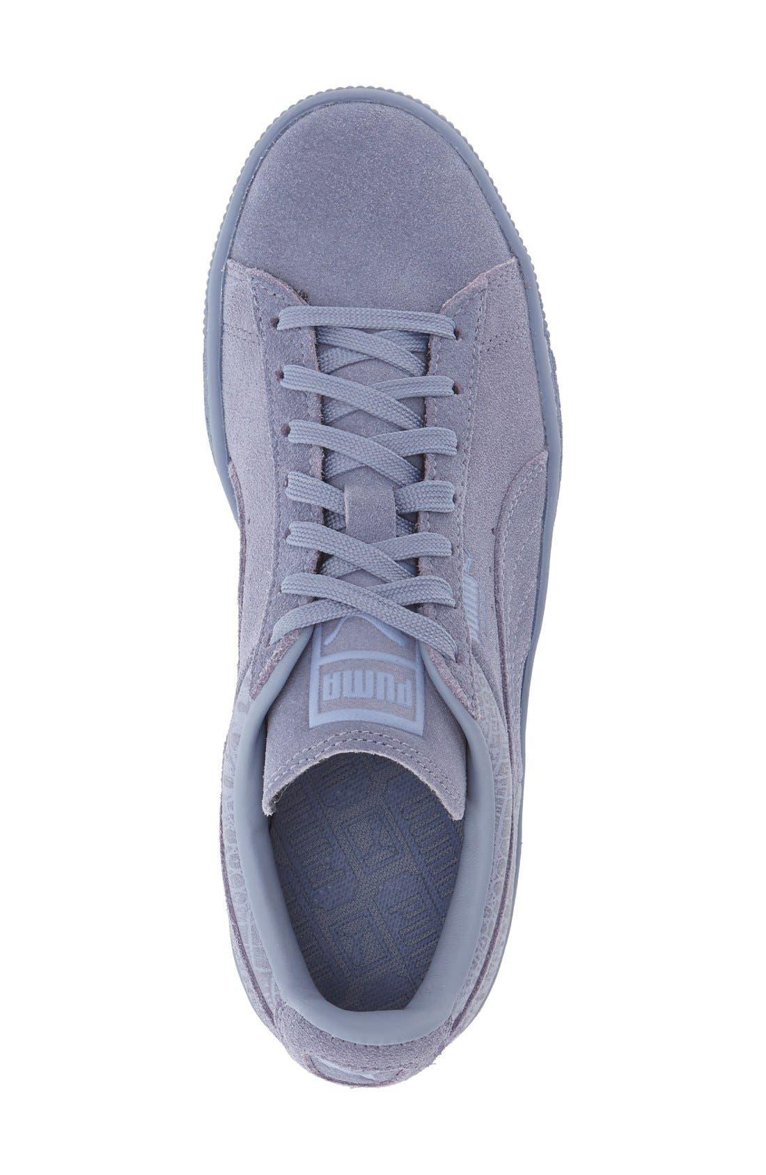 Suede Sneaker,                             Alternate thumbnail 76, color,