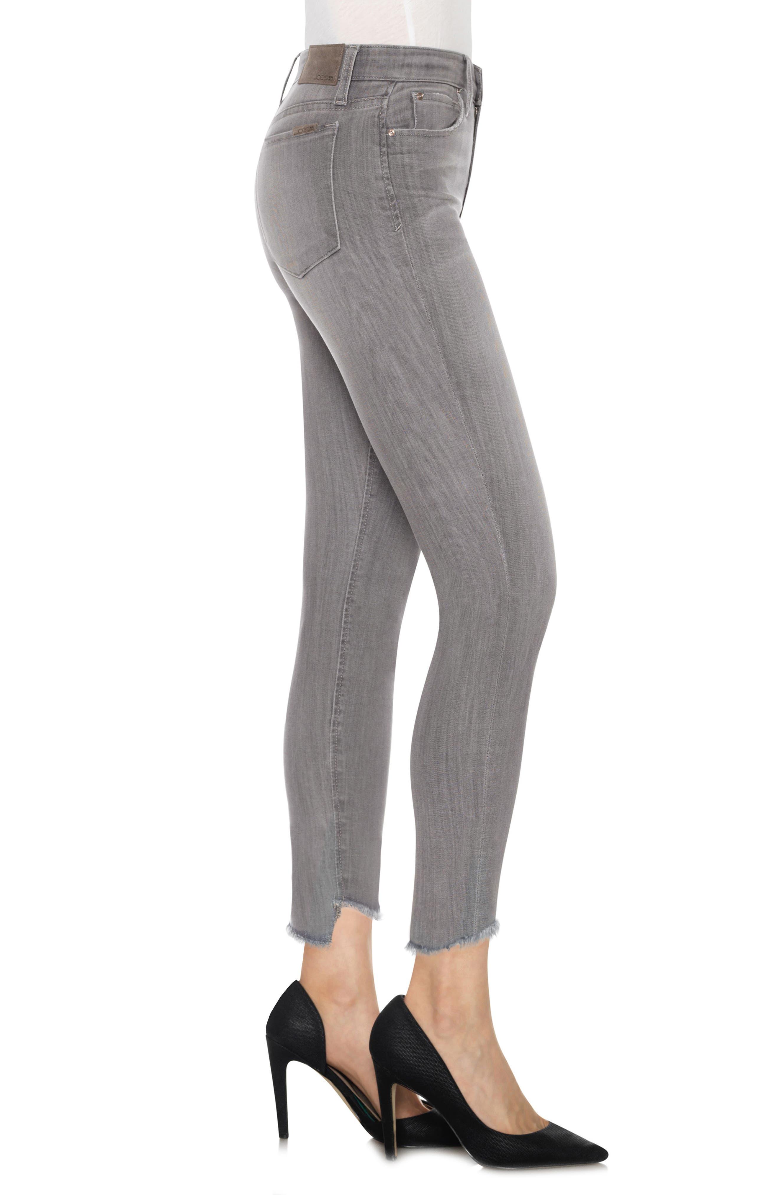 Cool Off - Charlie Step-Up Hem High Rise Skinny Jeans,                             Alternate thumbnail 3, color,                             050