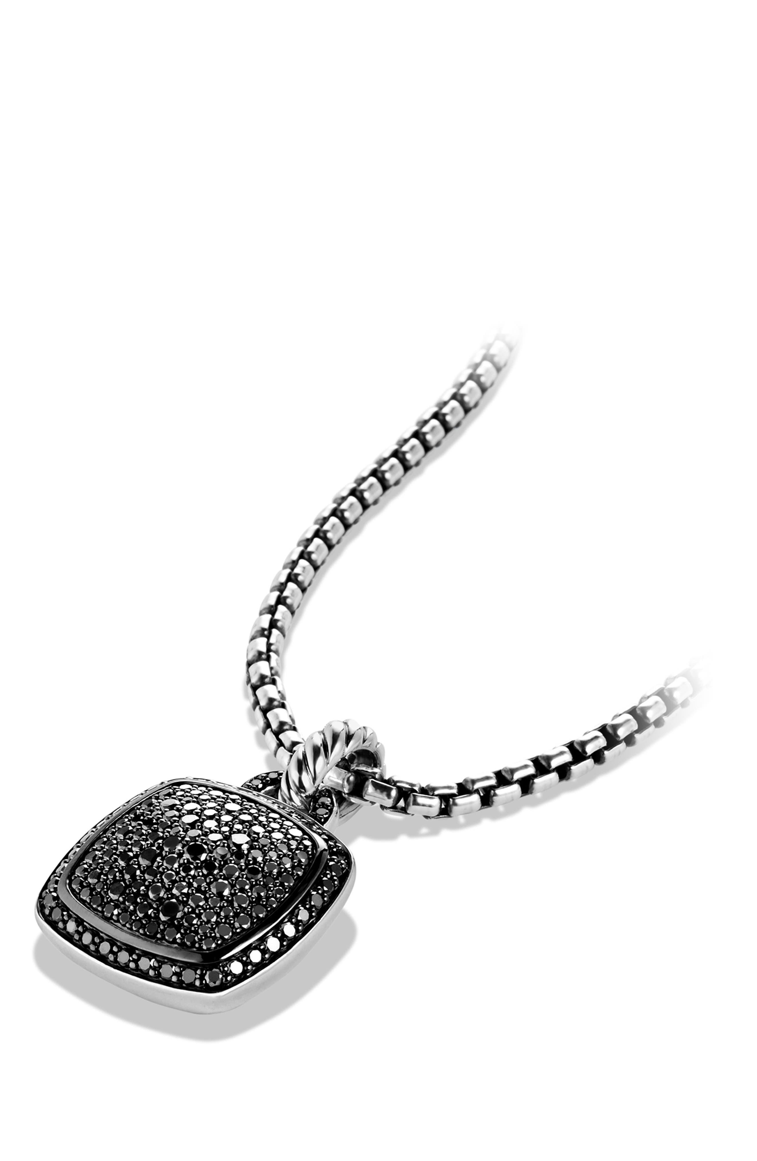 'Albion' Pendant with Diamonds,                             Alternate thumbnail 6, color,                             BLACK DIAMOND